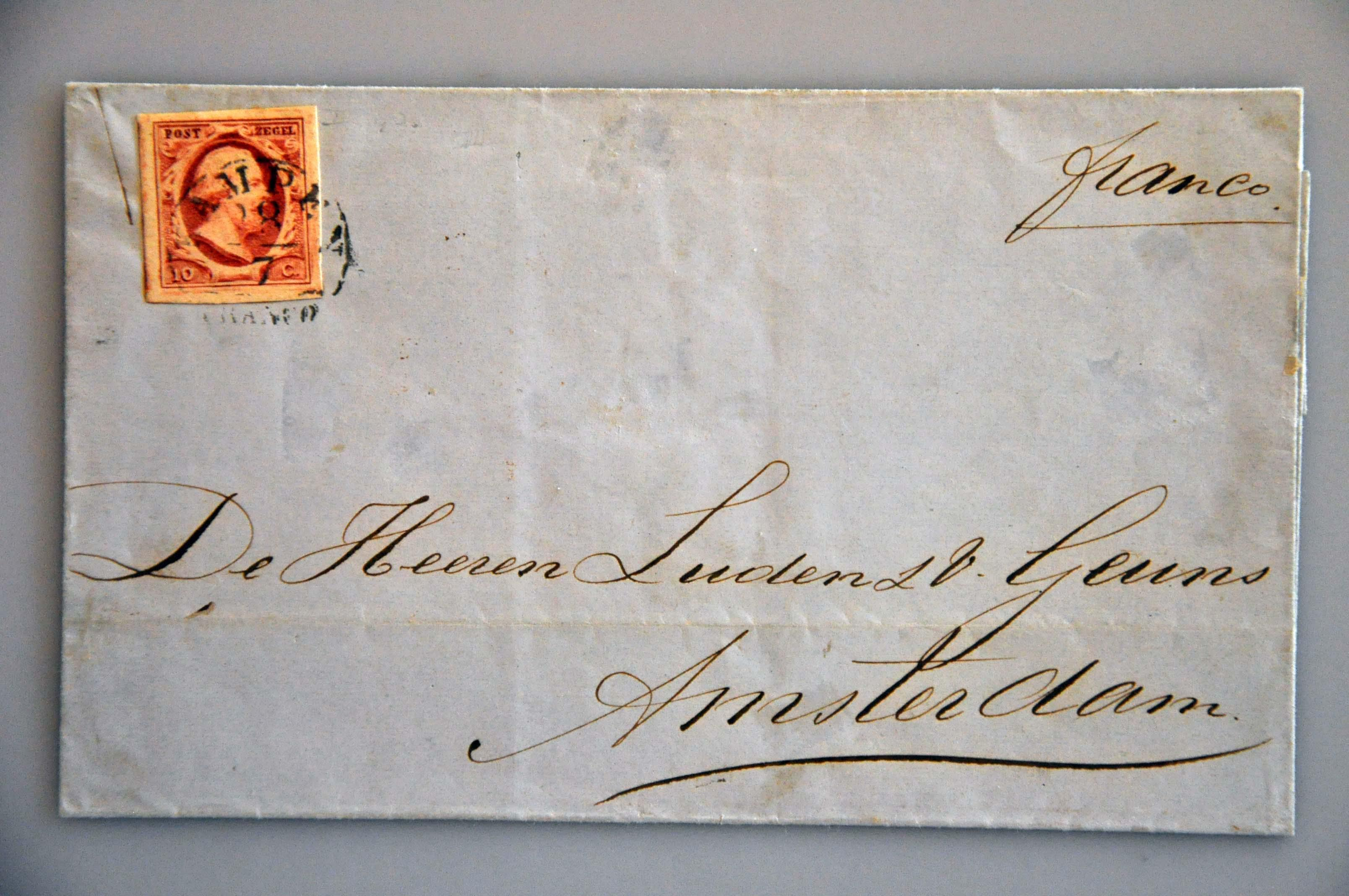 Lot 2353 - Netherlands and former colonies Netherlands -  Corinphila Veilingen Auction 244 -Netherlands and former colonies, WW2 Postal History, Bosnia, German and British colonies, Egypt. - Day 2
