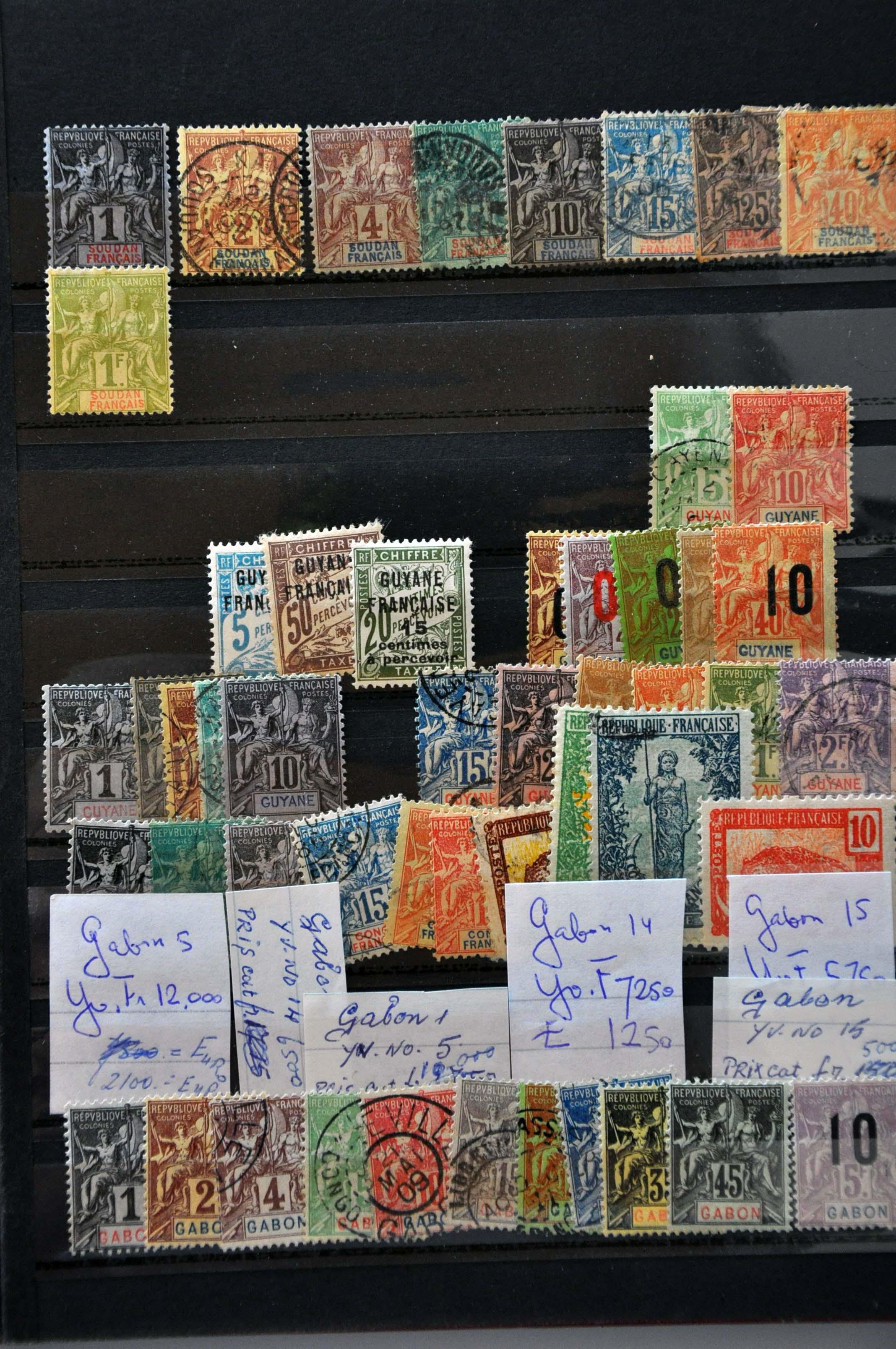 Lot 565 - France and former colonies french territories -  Corinphila Veilingen Auction 244 -Netherlands and former colonies, WW2 Postal History, Bosnia, German and British colonies, Egypt. - Day 1