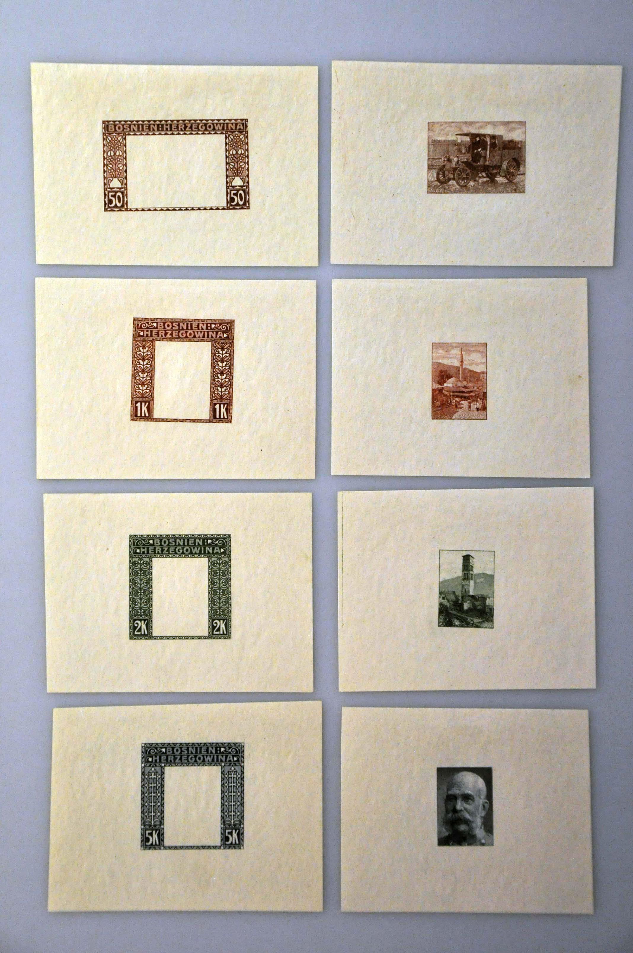 Lot 22 - Austria and former territories Bosnia and Herzegowina (Austrian) -  Corinphila Veilingen Auction 244 -Netherlands and former colonies, WW2 Postal History, Bosnia, German and British colonies, Egypt. - Day 1