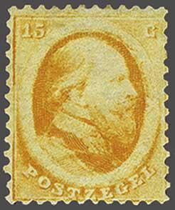 Lot 3435 - Netherlands and former colonies NL 1864 King William III -  Corinphila Veilingen Auction 244 -Netherlands and former colonies, WW2 Postal History, Bosnia, German and British colonies, Egypt. - Day 3