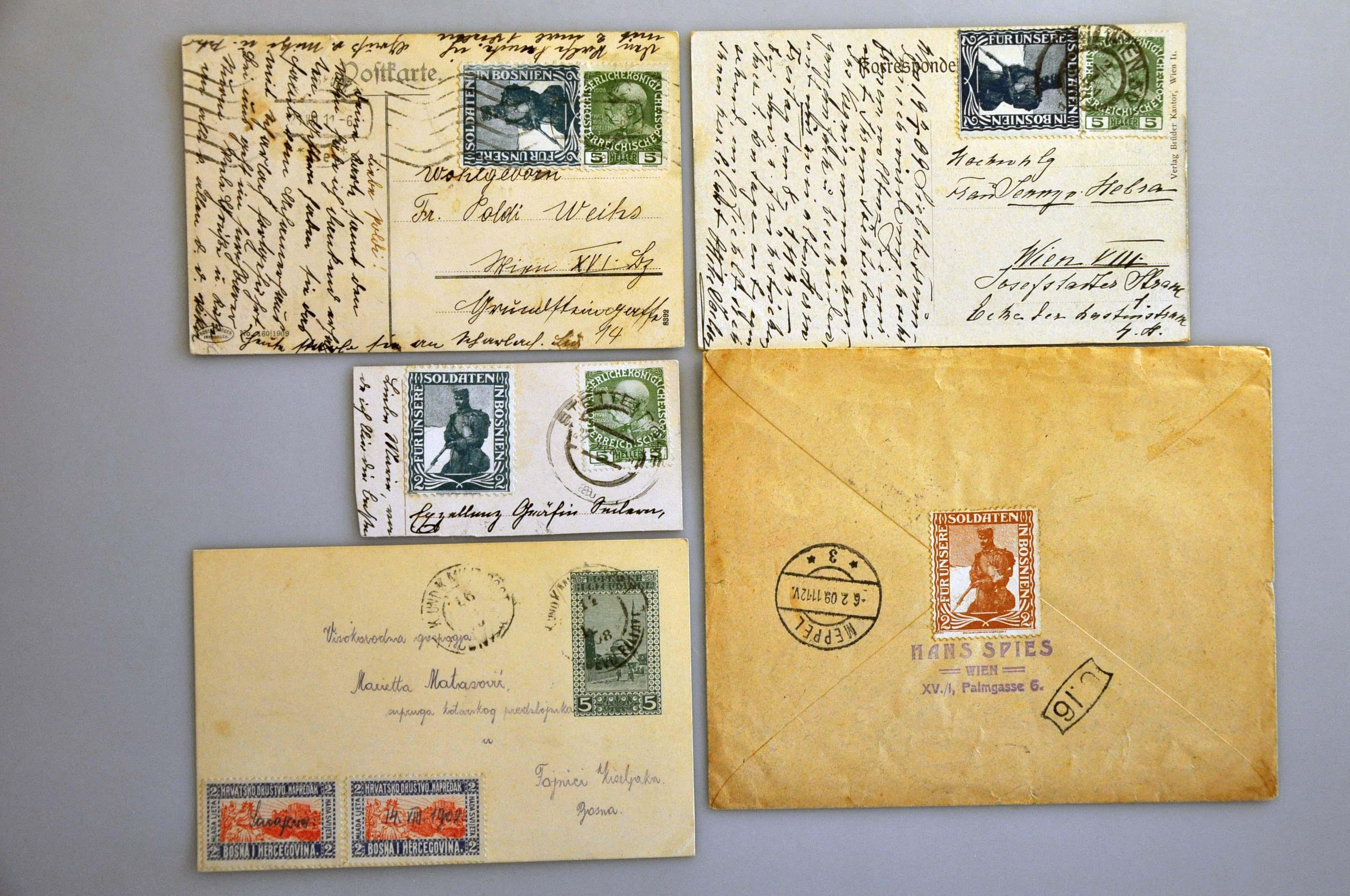 Lot 60 - Austria and former territories Bosnia and Herzegowina (Austrian) -  Corinphila Veilingen Auction 244 -Netherlands and former colonies, WW2 Postal History, Bosnia, German and British colonies, Egypt. - Day 1