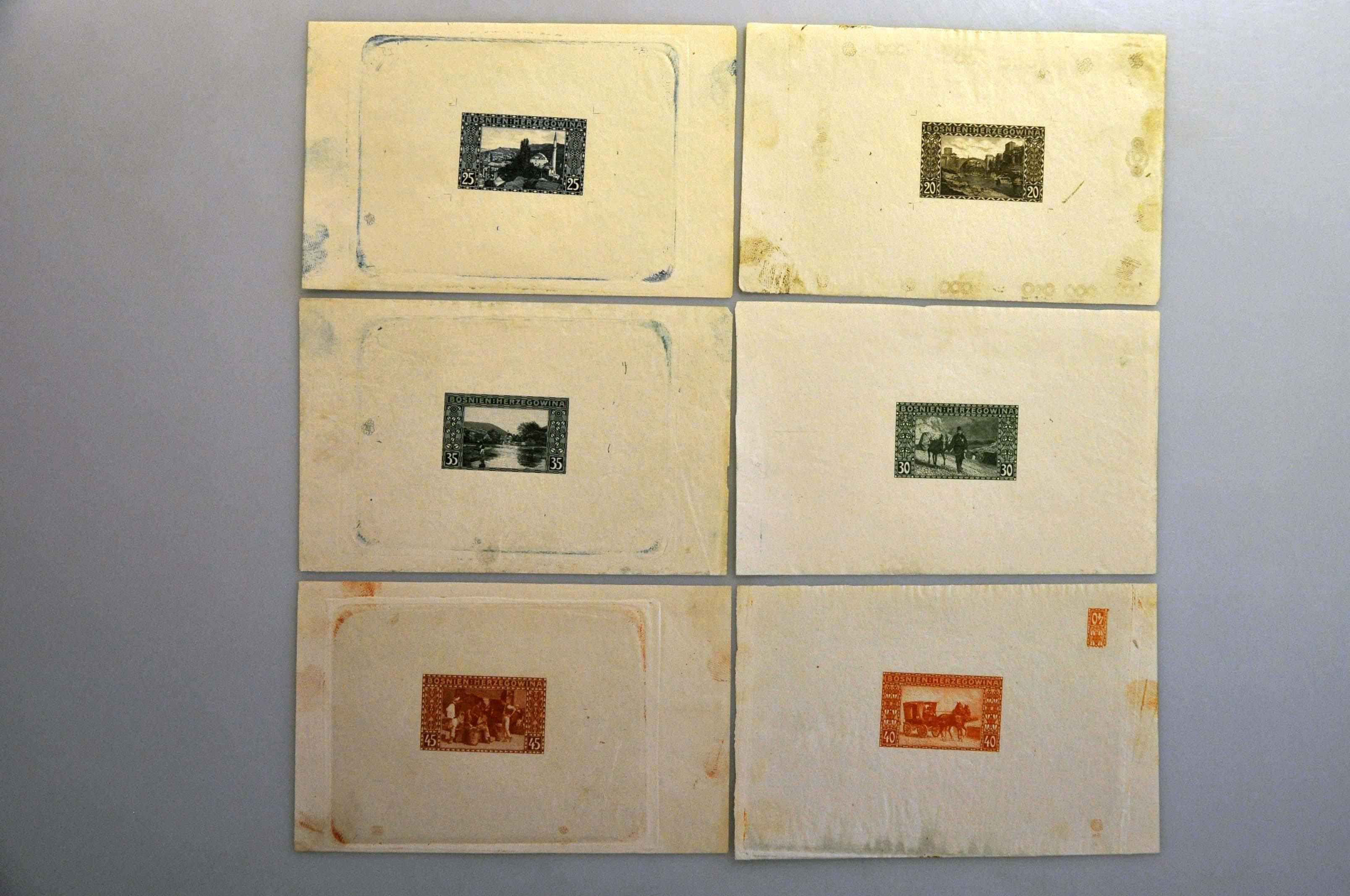 Lot 20 - Austria and former territories Bosnia and Herzegowina (Austrian) -  Corinphila Veilingen Auction 244 -Netherlands and former colonies, WW2 Postal History, Bosnia, German and British colonies, Egypt. - Day 1