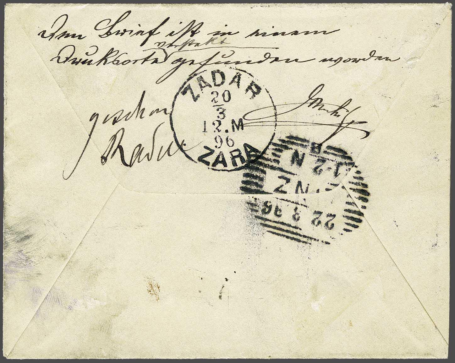 Lot 11 - Austria and former territories Bosnia and Herzegowina (Austrian) -  Corinphila Veilingen Auction 244 -Netherlands and former colonies, WW2 Postal History, Bosnia, German and British colonies, Egypt. - Day 1