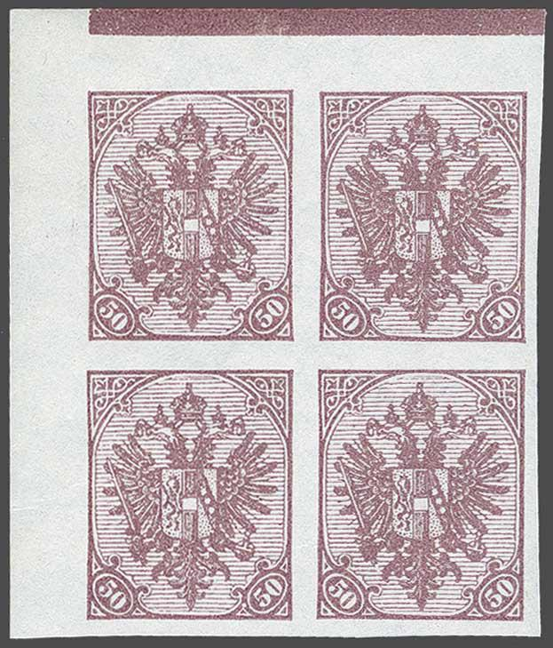 Lot 15 - Austria and former territories Bosnia and Herzegowina (Austrian) -  Corinphila Veilingen Auction 244 -Netherlands and former colonies, WW2 Postal History, Bosnia, German and British colonies, Egypt. - Day 1