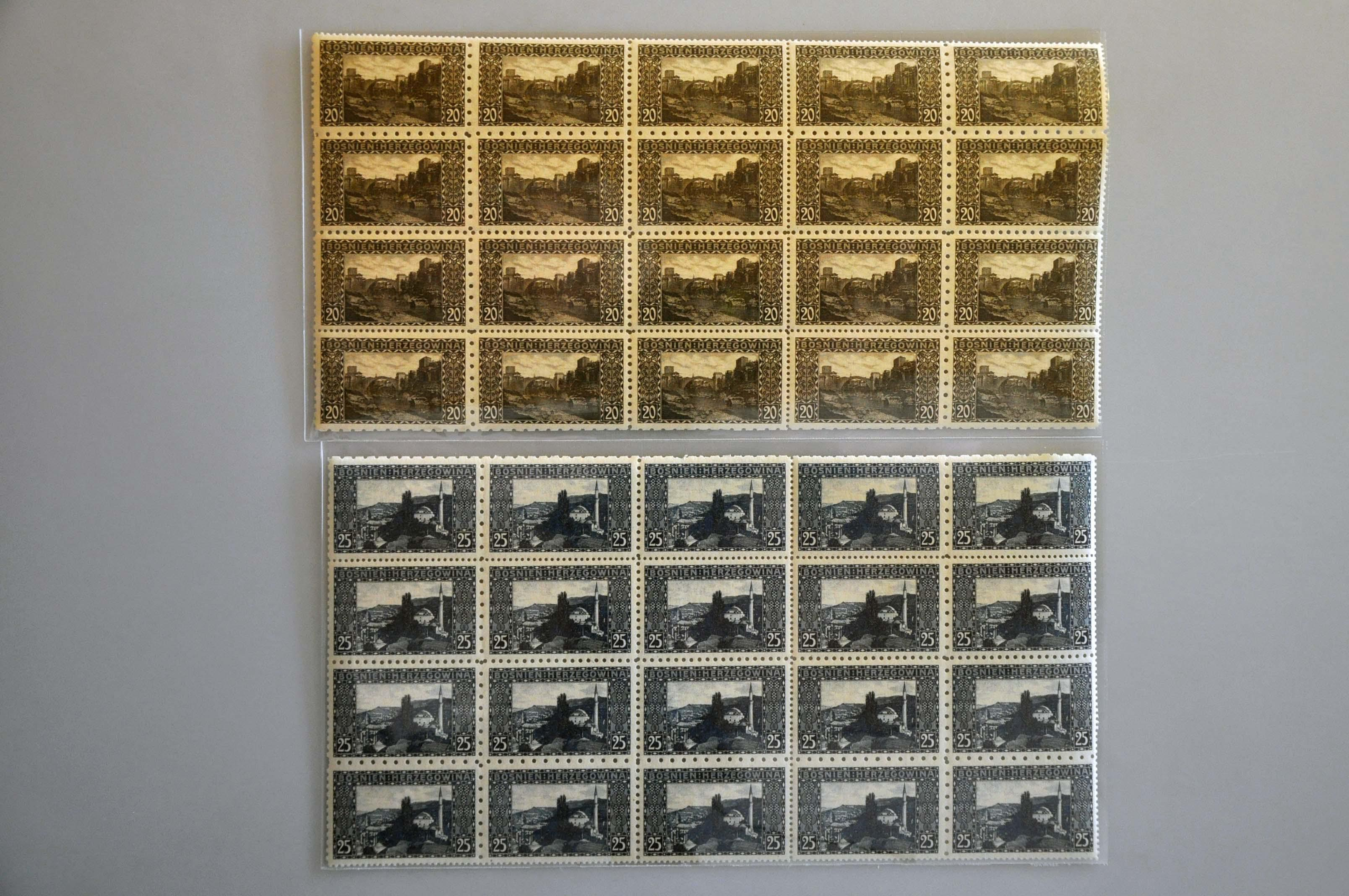Lot 24 - Austria and former territories Bosnia and Herzegowina (Austrian) -  Corinphila Veilingen Auction 244 -Netherlands and former colonies, WW2 Postal History, Bosnia, German and British colonies, Egypt. - Day 1