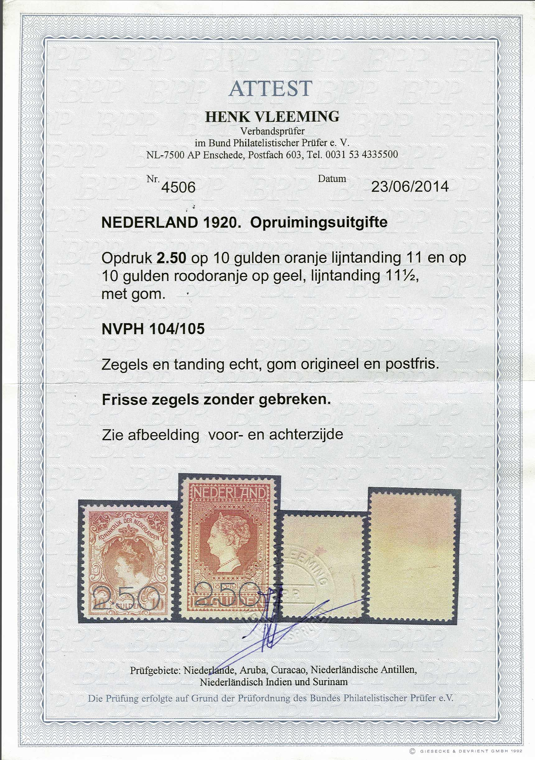 Lot 1849 - Netherlands and former colonies Netherlands -  Corinphila Veilingen Auction 245-246 Day 3 - Netherlands and former colonies - Single lots, Collections and lots, Boxes and literature