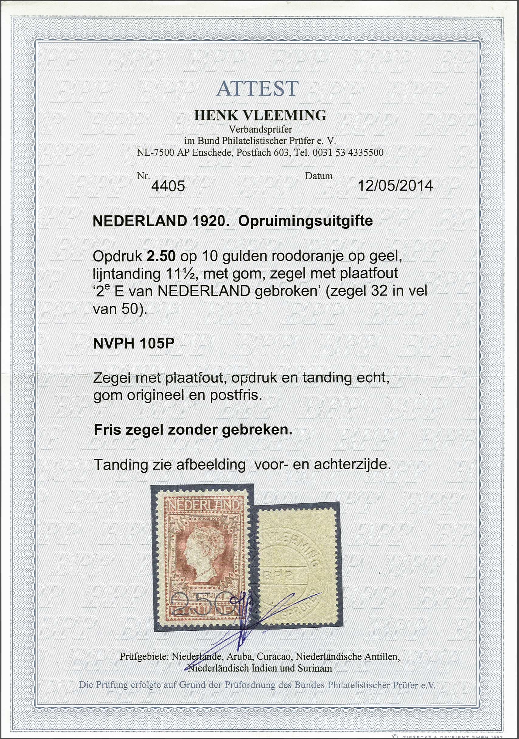 Lot 1850 - Netherlands and former colonies Netherlands -  Corinphila Veilingen Auction 245-246 Day 3 - Netherlands and former colonies - Single lots, Collections and lots, Boxes and literature