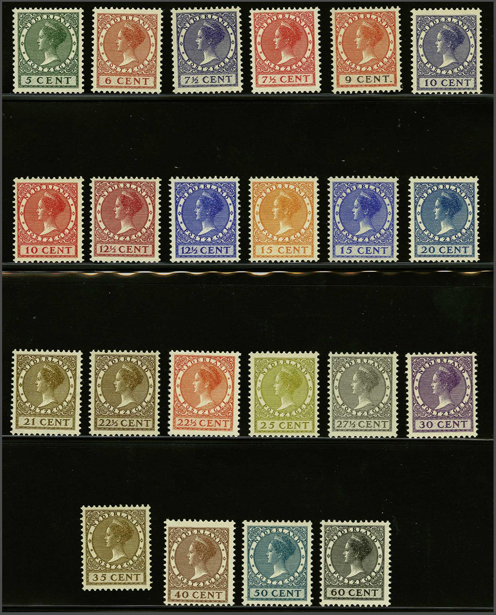 Lot 1867 - Netherlands and former colonies NL 1924 Lebeau and Veth -  Corinphila Veilingen Auction 245-246 Day 3 - Netherlands and former colonies - Single lots, Collections and lots, Boxes and literature