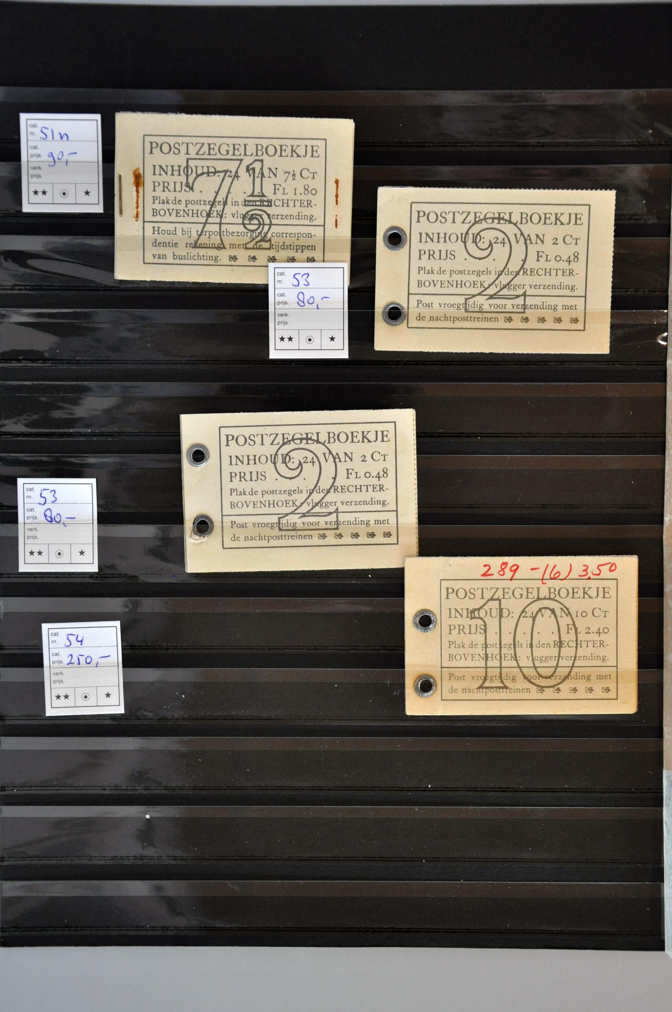 Lot 2709 - Netherlands and former colonies Netherlands -  Corinphila Veilingen Auction 245-246 Day 3 - Netherlands and former colonies - Single lots, Collections and lots, Boxes and literature