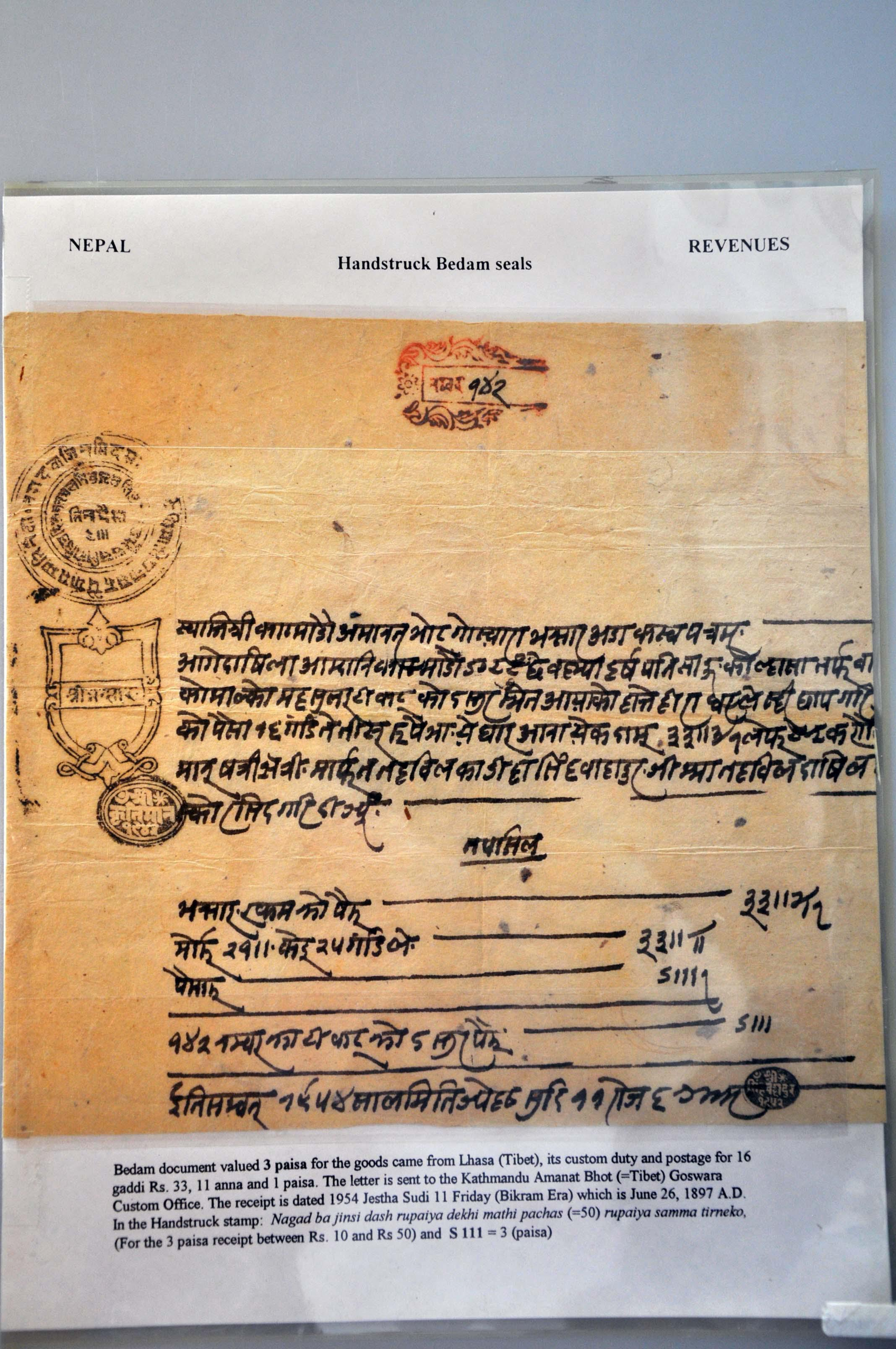 Lot 87 - Great Britain and former colonies Nepal -  Corinphila Veilingen Auction 245-246 Day 1 - Nepal - The Dick van der Wateren Collection, Foreign countries - Single lots, Picture postcards