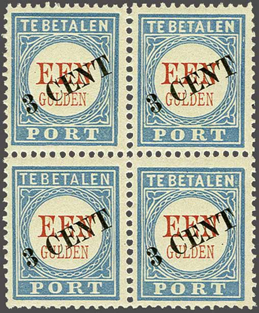 Lot 2007 - Netherlands and former colonies Netherlands Postage Due -  Corinphila Veilingen Auction 245-246 Day 3 - Netherlands and former colonies - Single lots, Collections and lots, Boxes and literature