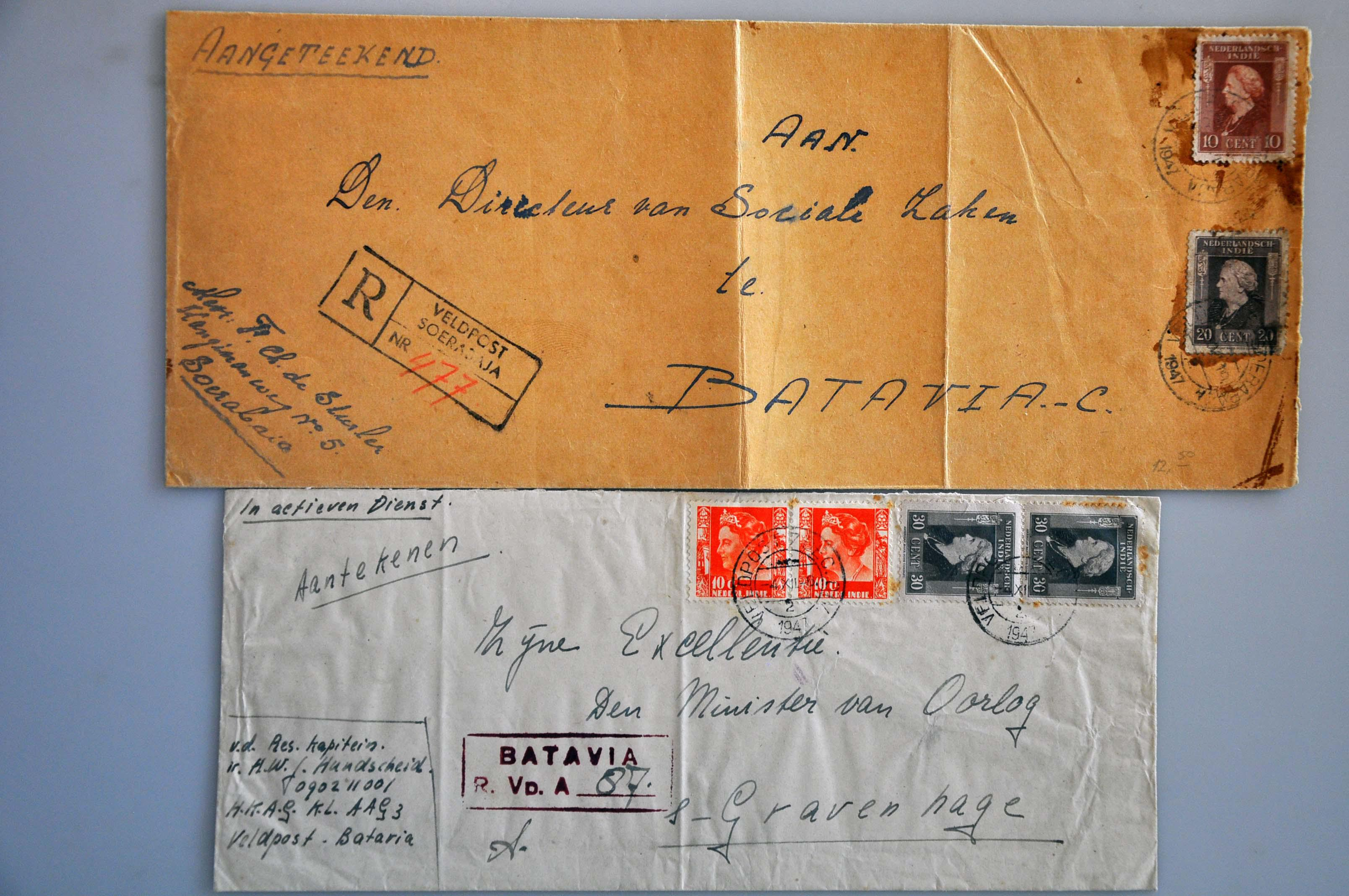 Lot 2755 - Netherlands and former colonies Netherlands Indies -  Corinphila Veilingen Auction 245-246 Day 3 - Netherlands and former colonies - Single lots, Collections and lots, Boxes and literature