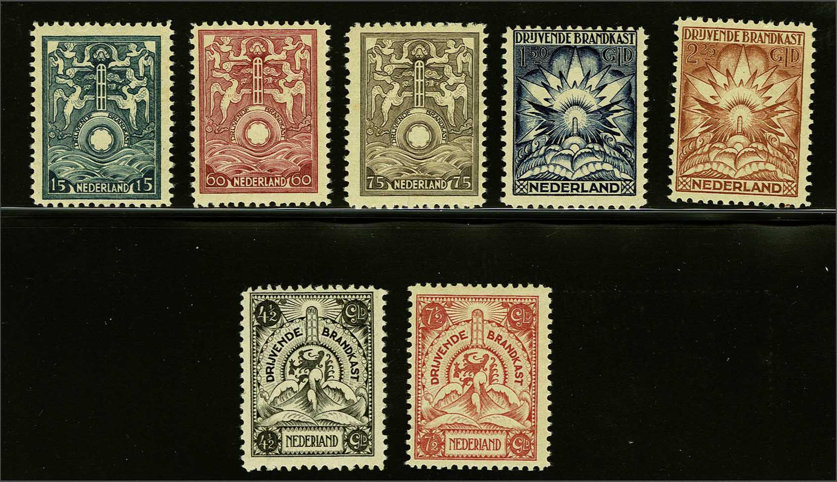 Lot 2026 - Netherlands and former colonies netherlands incendiarybox insurance -  Corinphila Veilingen Auction 245-246 Day 3 - Netherlands and former colonies - Single lots, Collections and lots, Boxes and literature