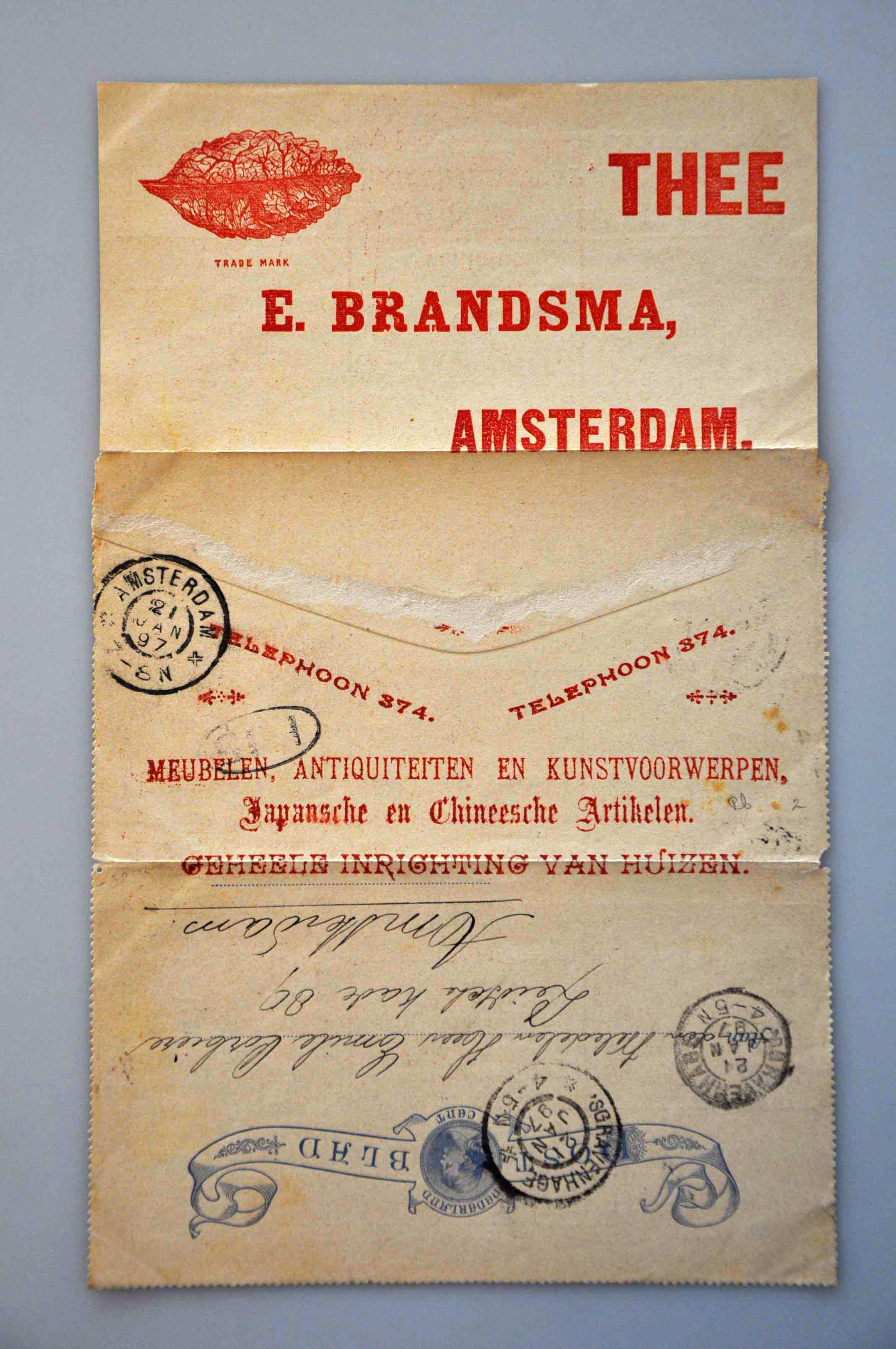 Lot 1833 - Netherlands and former colonies Netherlands Postal Stationery -  Corinphila Veilingen Auction 245-246 Day 3 - Netherlands and former colonies - Single lots, Collections and lots, Boxes and literature
