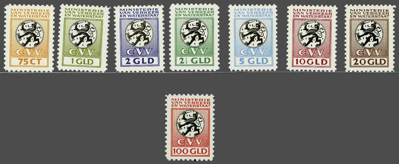 Lot 2040 - Netherlands and former colonies NL Revenue stamps -  Corinphila Veilingen Auction 245-246 Day 3 - Netherlands and former colonies - Single lots, Collections and lots, Boxes and literature