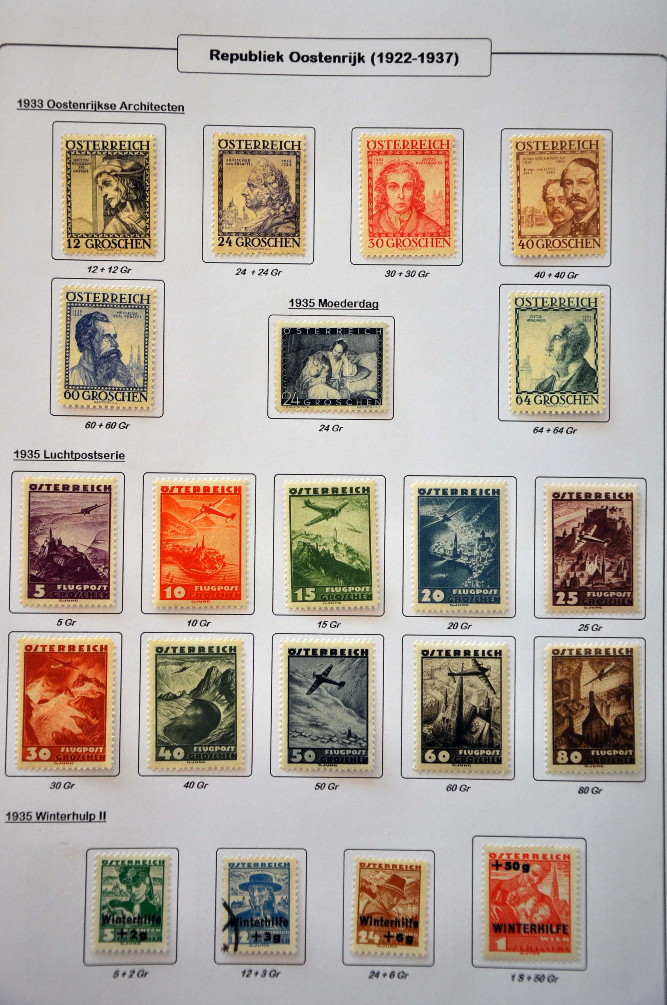 Lot 578 - Austria and former territories Austria -  Corinphila Veilingen Auction 245-246 Day 2 - Foreign countries - Collections and lots, Foreign countries - Boxes and literature