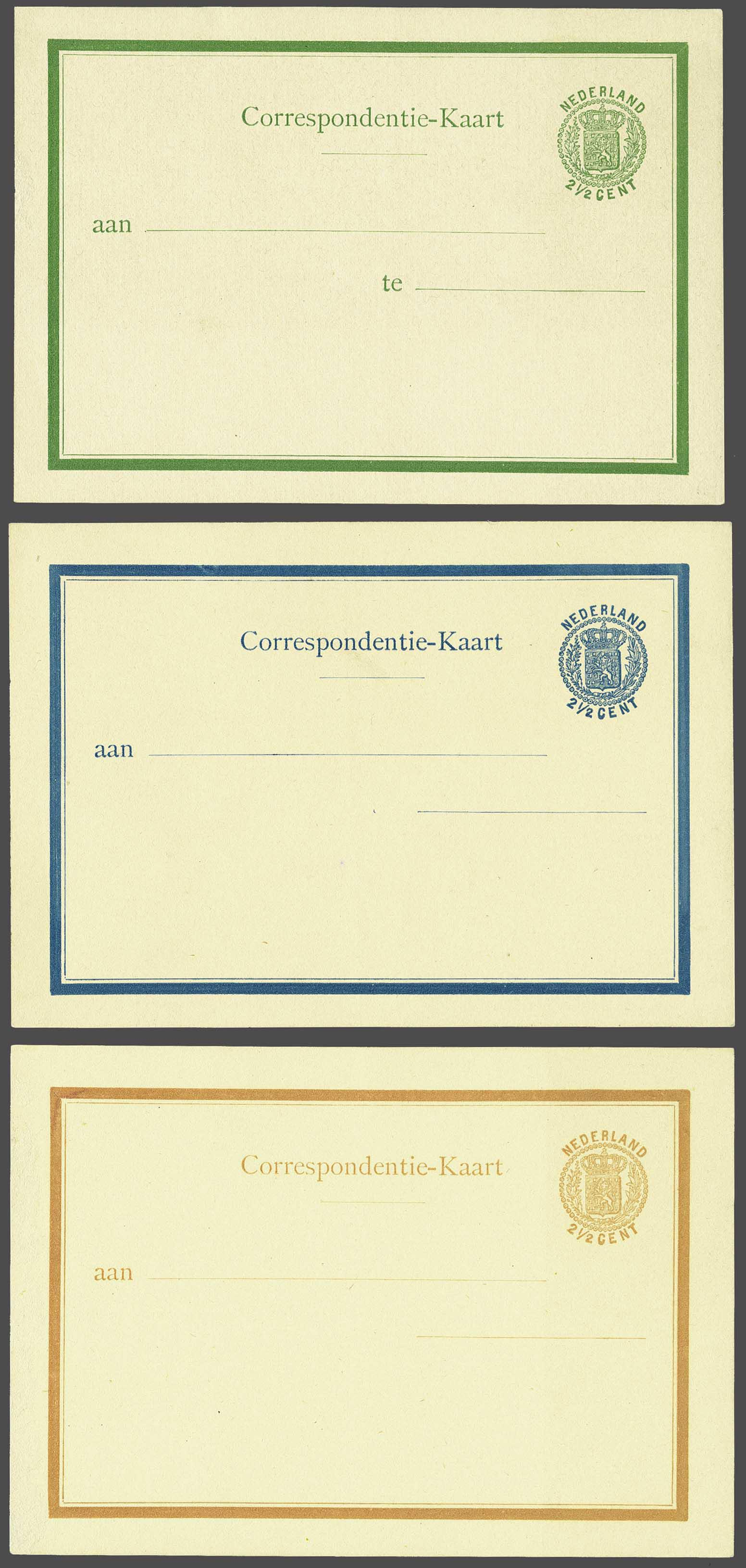 Lot 1828 - Netherlands and former colonies Netherlands Postal Stationery -  Corinphila Veilingen Auction 245-246 Day 3 - Netherlands and former colonies - Single lots, Collections and lots, Boxes and literature
