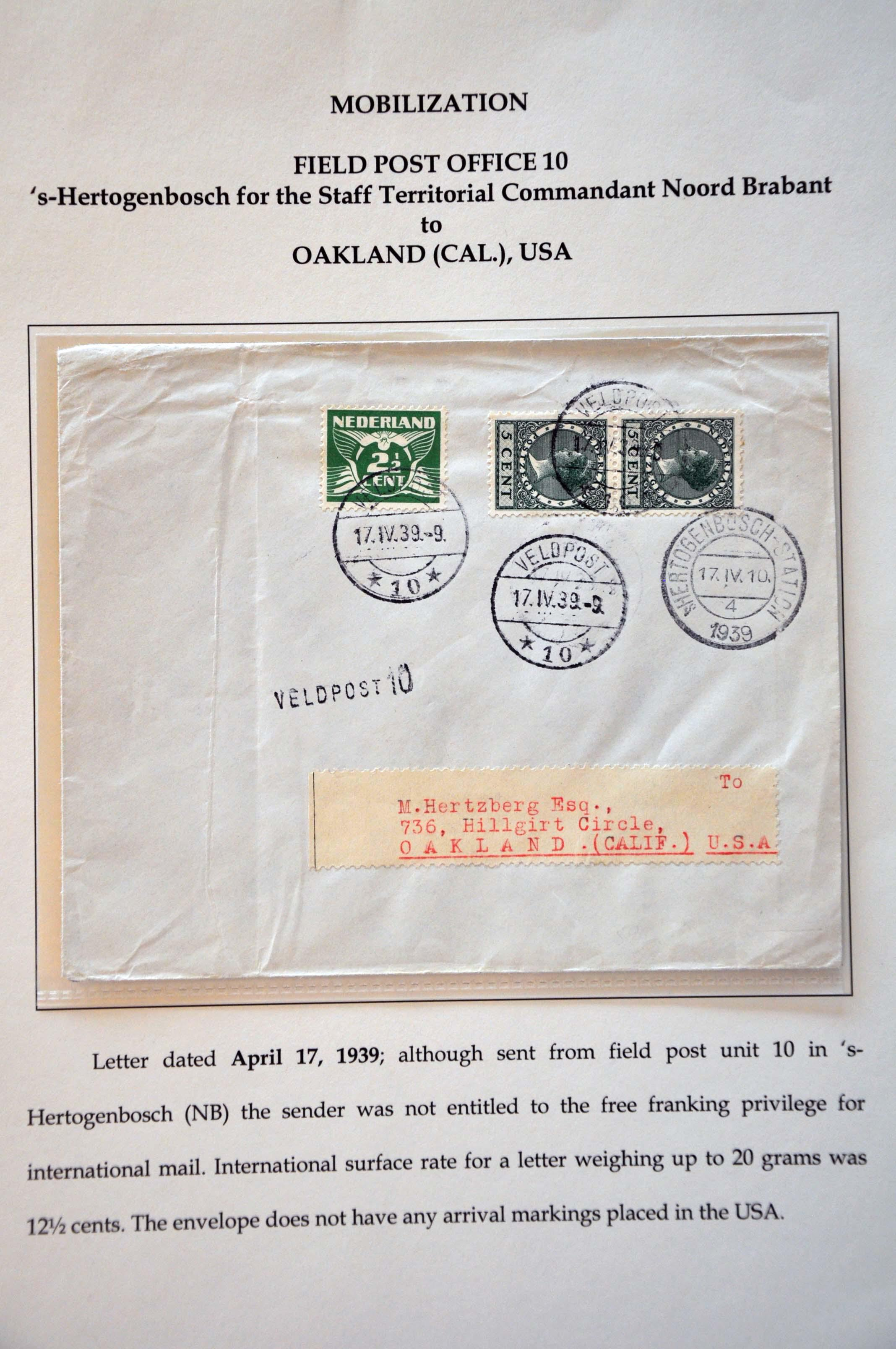 Lot 2748 - Netherlands and former colonies Netherlands -  Corinphila Veilingen Auction 245-246 Day 3 - Netherlands and former colonies - Single lots, Collections and lots, Boxes and literature