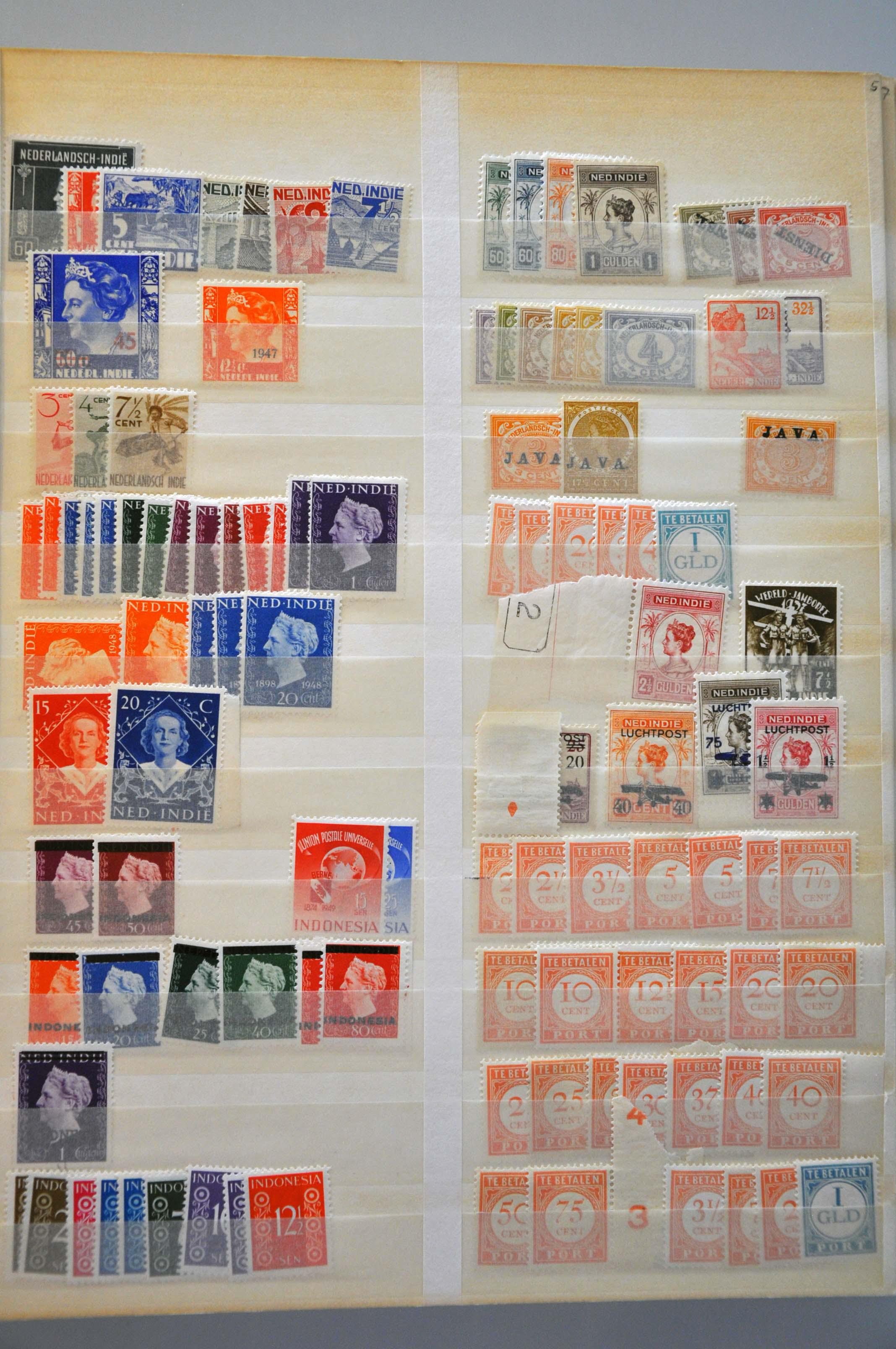 Lot 2359 - Netherlands and former colonies Netherlands and Former Territories -  Corinphila Veilingen Auction 245-246 Day 3 - Netherlands and former colonies - Single lots, Collections and lots, Boxes and literature