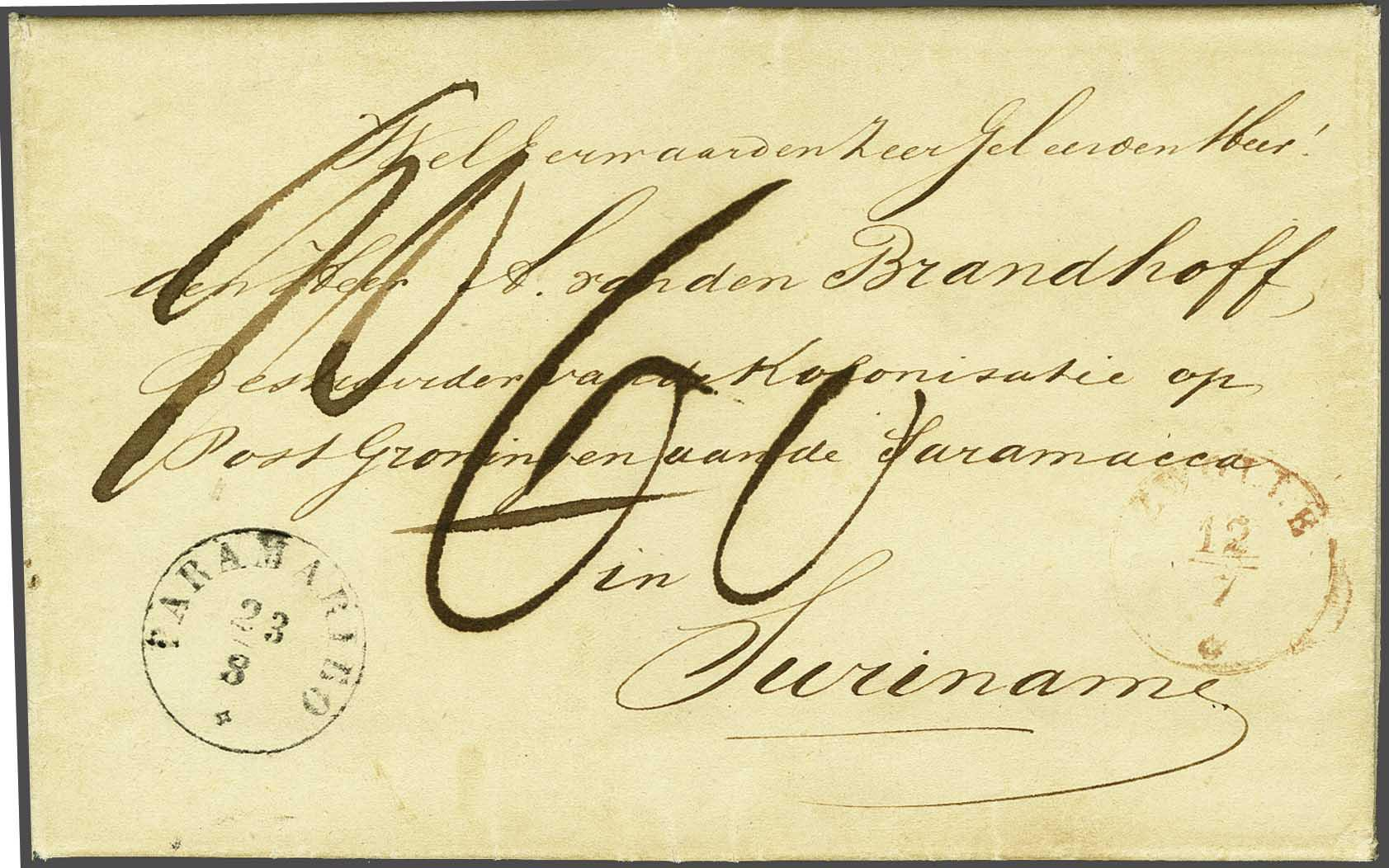 Lot 2167 - Netherlands and former colonies surinam -  Corinphila Veilingen Auction 245-246 Day 3 - Netherlands and former colonies - Single lots, Collections and lots, Boxes and literature