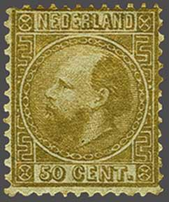 Lot 1756 - Netherlands and former colonies NL 1867 King William III -  Corinphila Veilingen Auction 245-246 Day 3 - Netherlands and former colonies - Single lots, Collections and lots, Boxes and literature