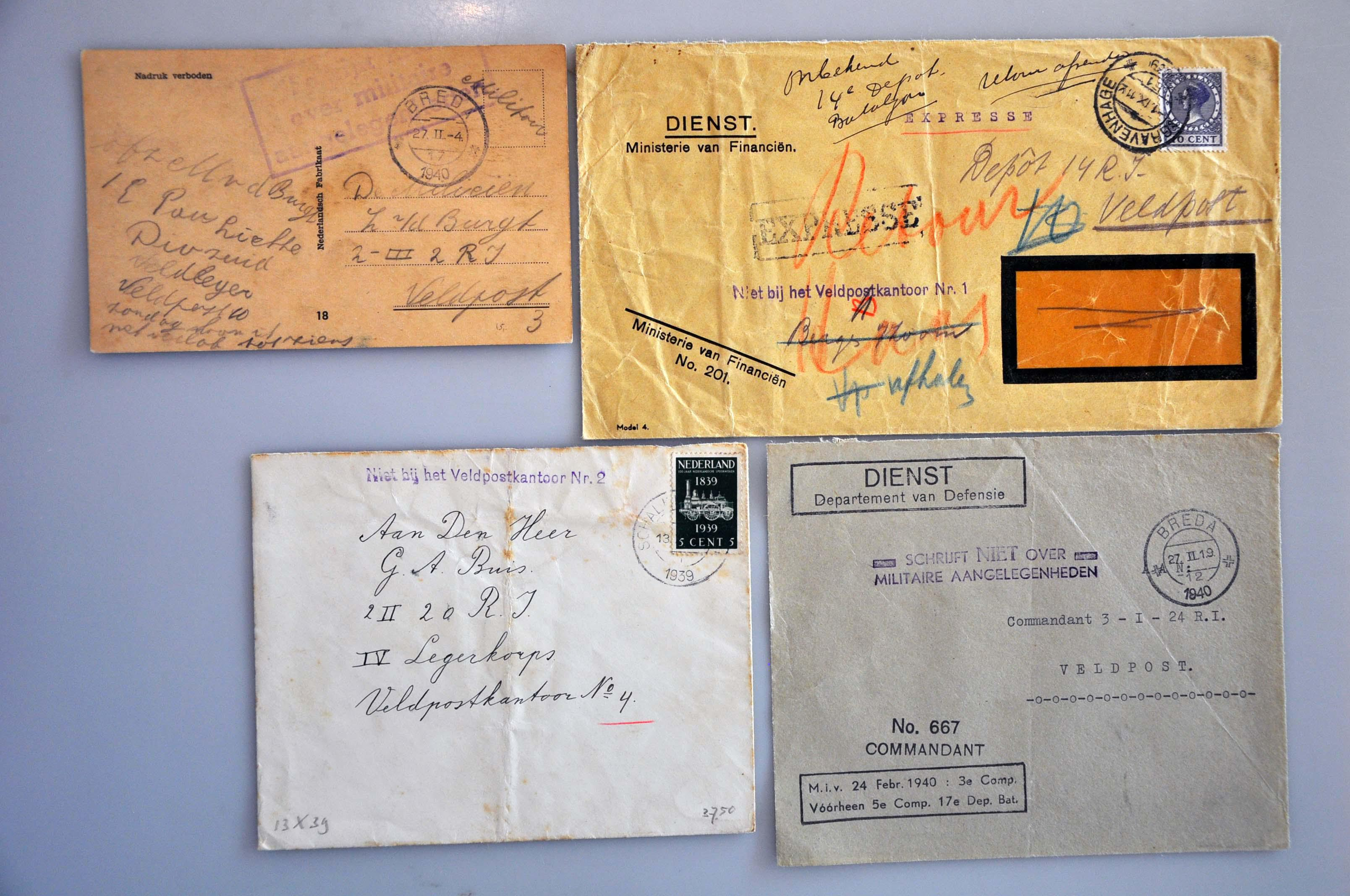 Lot 2389 - Netherlands and former colonies Netherlands -  Corinphila Veilingen Auction 245-246 Day 3 - Netherlands and former colonies - Single lots, Collections and lots, Boxes and literature