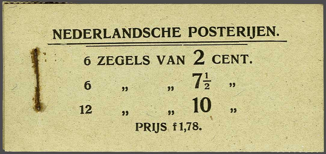 Lot 1970 - Netherlands and former colonies Netherlands Stamp Booklets 1902-1950 -  Corinphila Veilingen Auction 245-246 Day 3 - Netherlands and former colonies - Single lots, Collections and lots, Boxes and literature