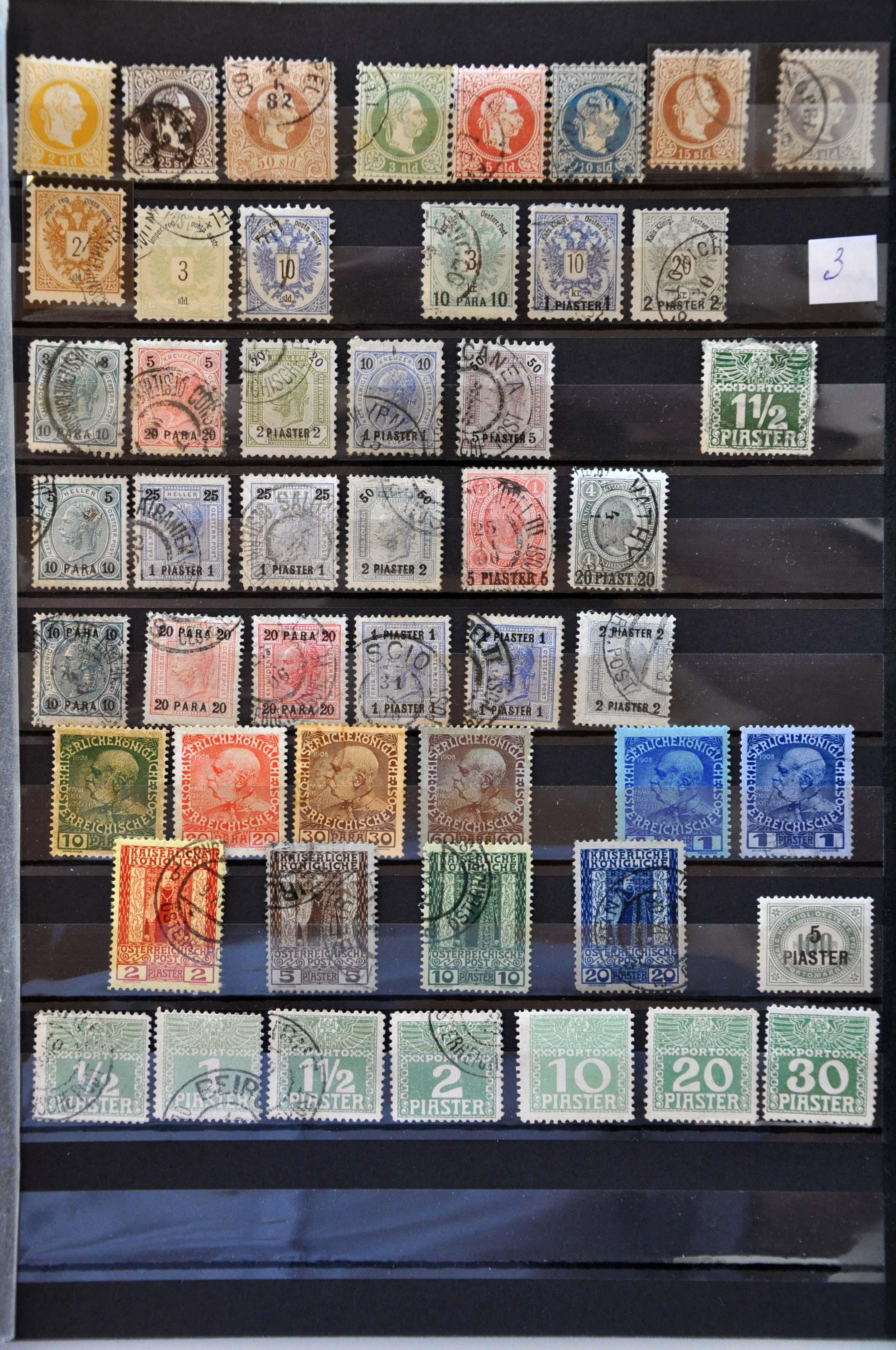 Lot 581 - Austria and former territories Austria -  Corinphila Veilingen Auction 245-246 Day 2 - Foreign countries - Collections and lots, Foreign countries - Boxes and literature