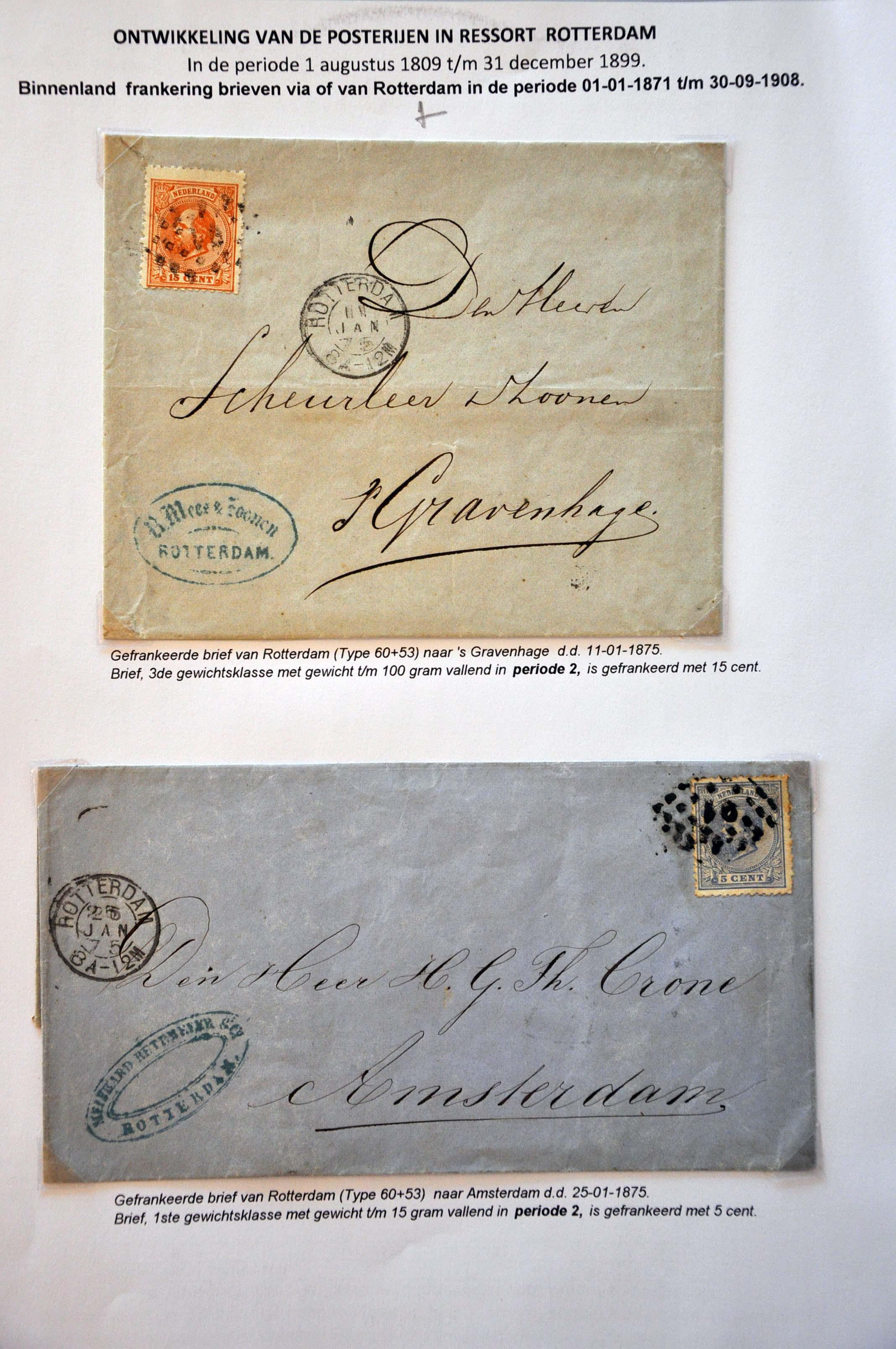 Lot 2583 - Netherlands and former colonies Netherlands -  Corinphila Veilingen Auction 245-246 Day 3 - Netherlands and former colonies - Single lots, Collections and lots, Boxes and literature