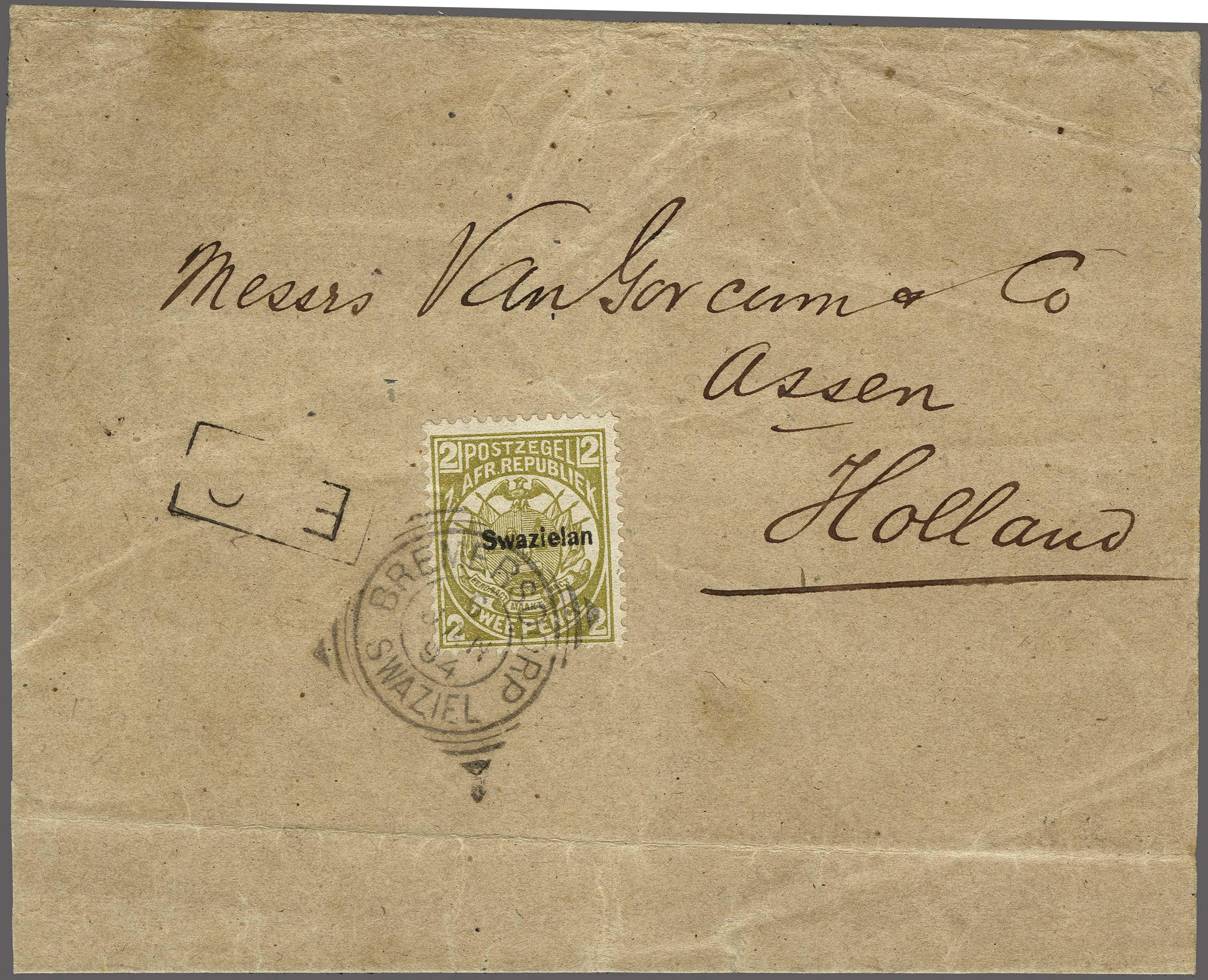 Lot 158 - Great Britain and former colonies swaziland -  Corinphila Veilingen Auction 250-253 - Day 1 - Foreign countries