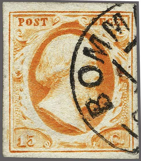 Lot 2486 - Netherlands and former colonies NL Semi-circular Cancellation -  Corinphila Veilingen Auction 250-253 - Day 3 - Netherlands and former colonies - Single lots & Picture postcards
