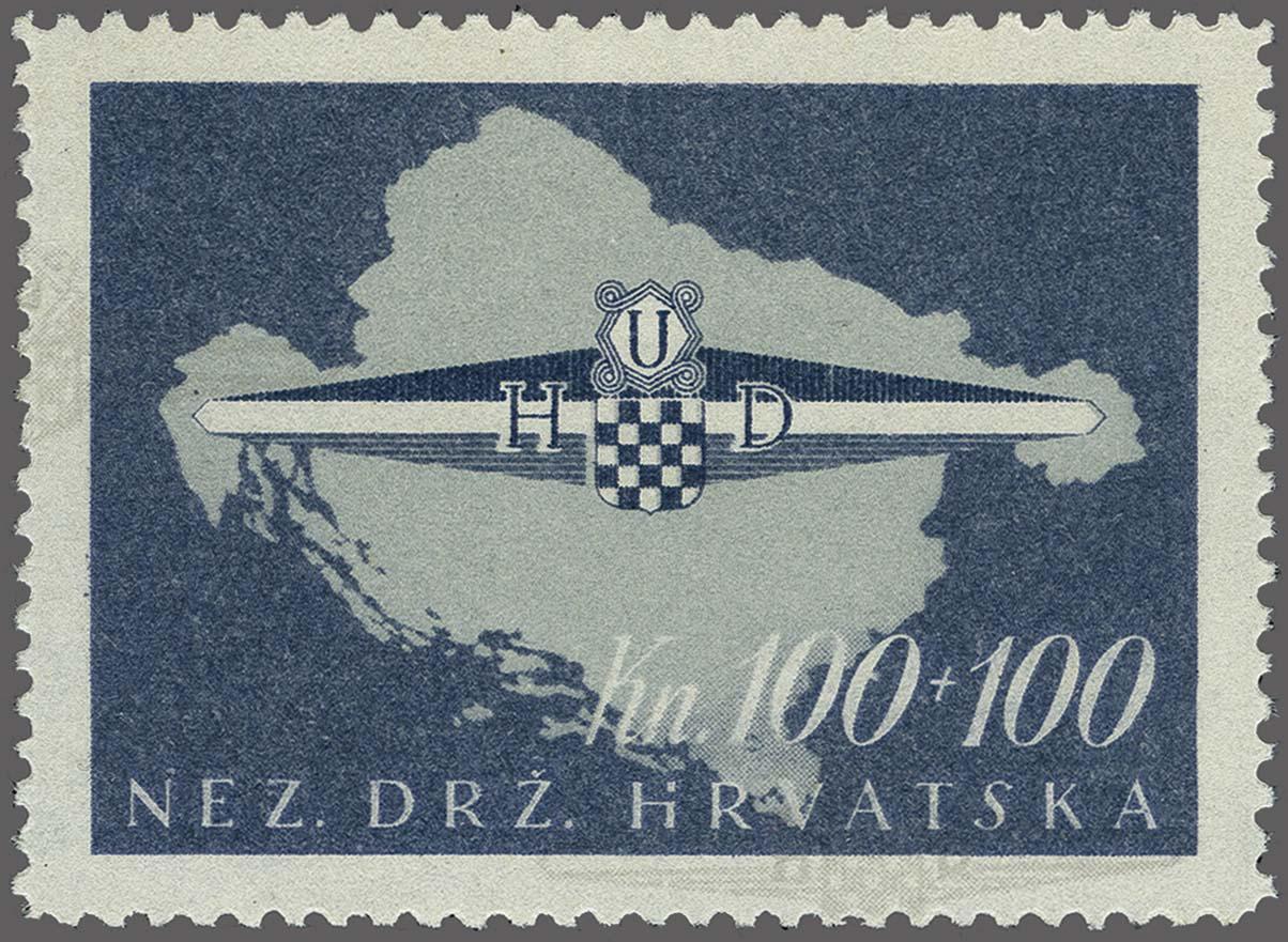 Lot 84 - European Countries Croatia -  Corinphila Veilingen Auction 250-253 - Day 1 - Foreign countries