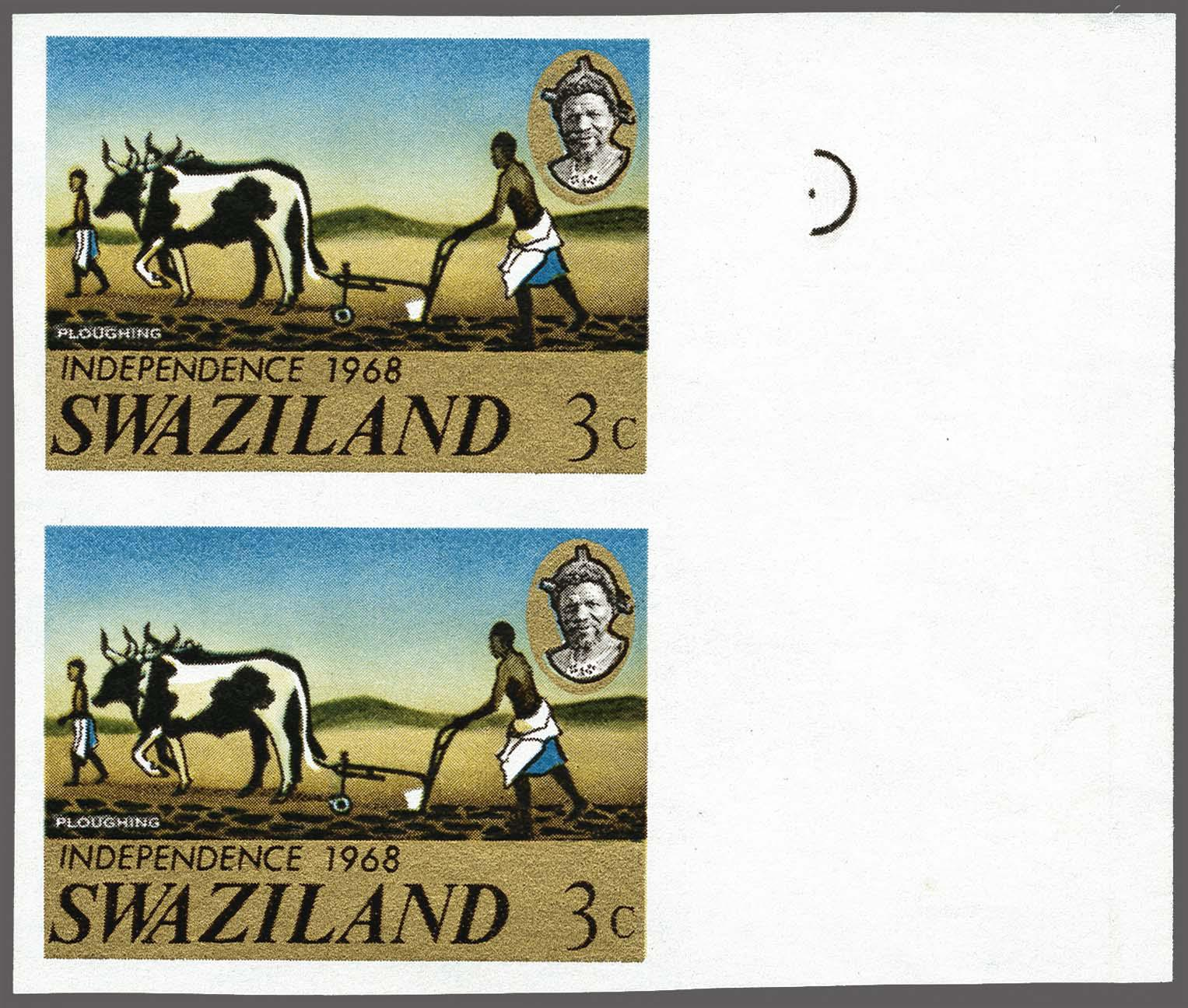 Lot 192 - Great Britain and former colonies swaziland -  Corinphila Veilingen Auction 250-253 - Day 1 - Foreign countries