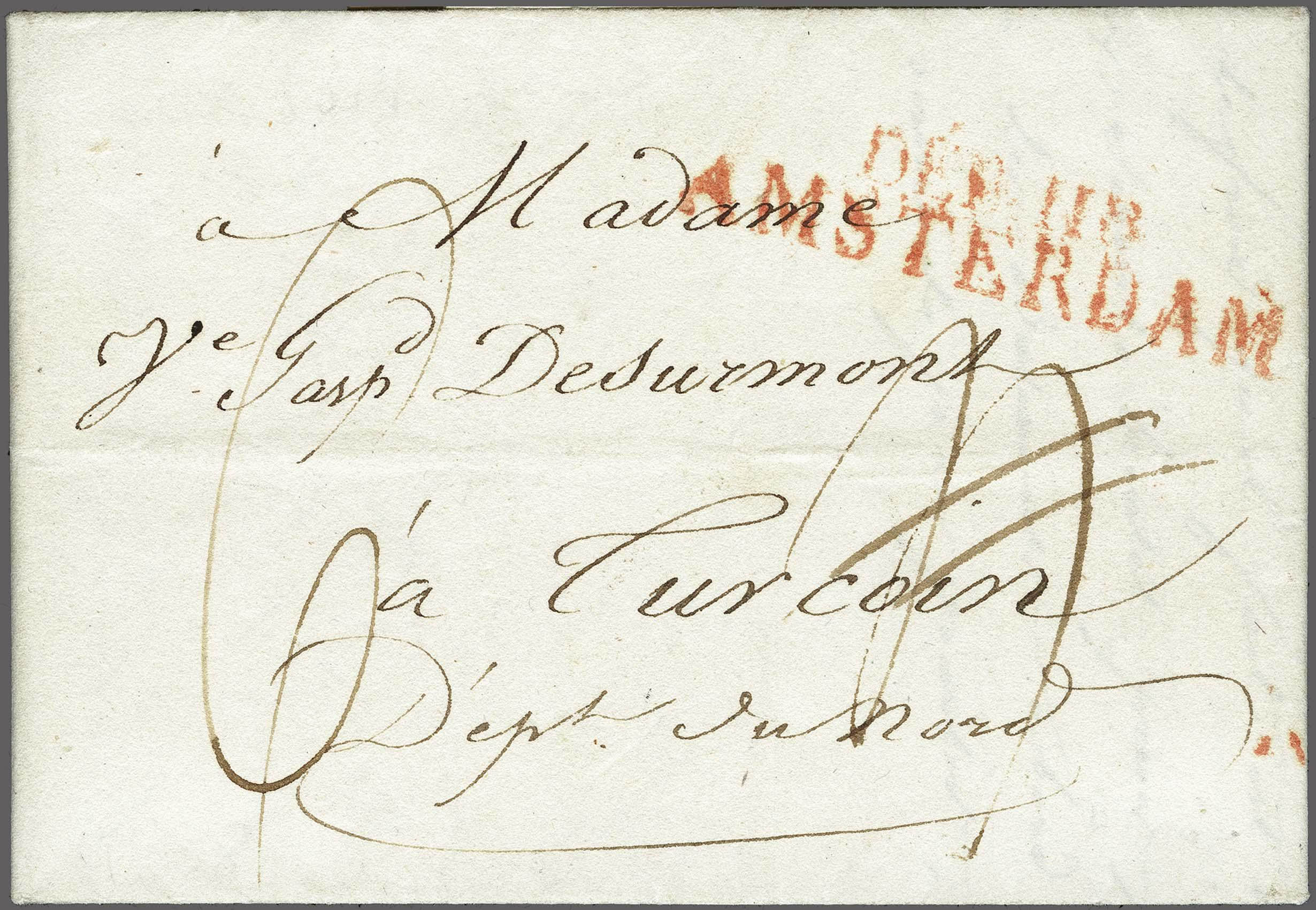 Lot 2380 - Netherlands and former colonies Netherlands -  Corinphila Veilingen Auction 250-253 - Day 3 - Netherlands and former colonies - Single lots & Picture postcards