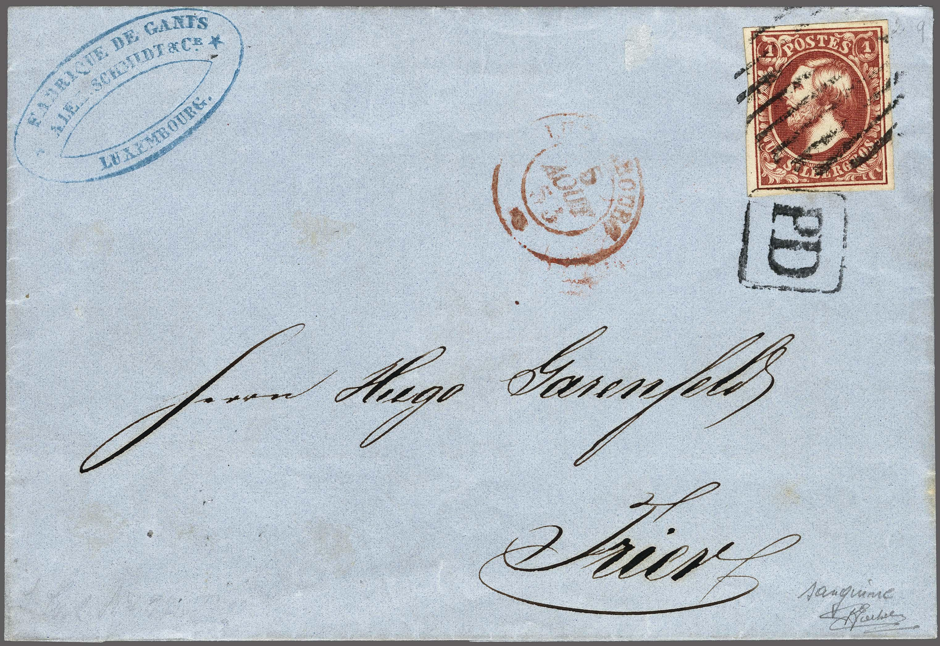 Lot 223 - European Countries Luxembourg -  Corinphila Veilingen Auction 250-253 - Day 1 - Foreign countries