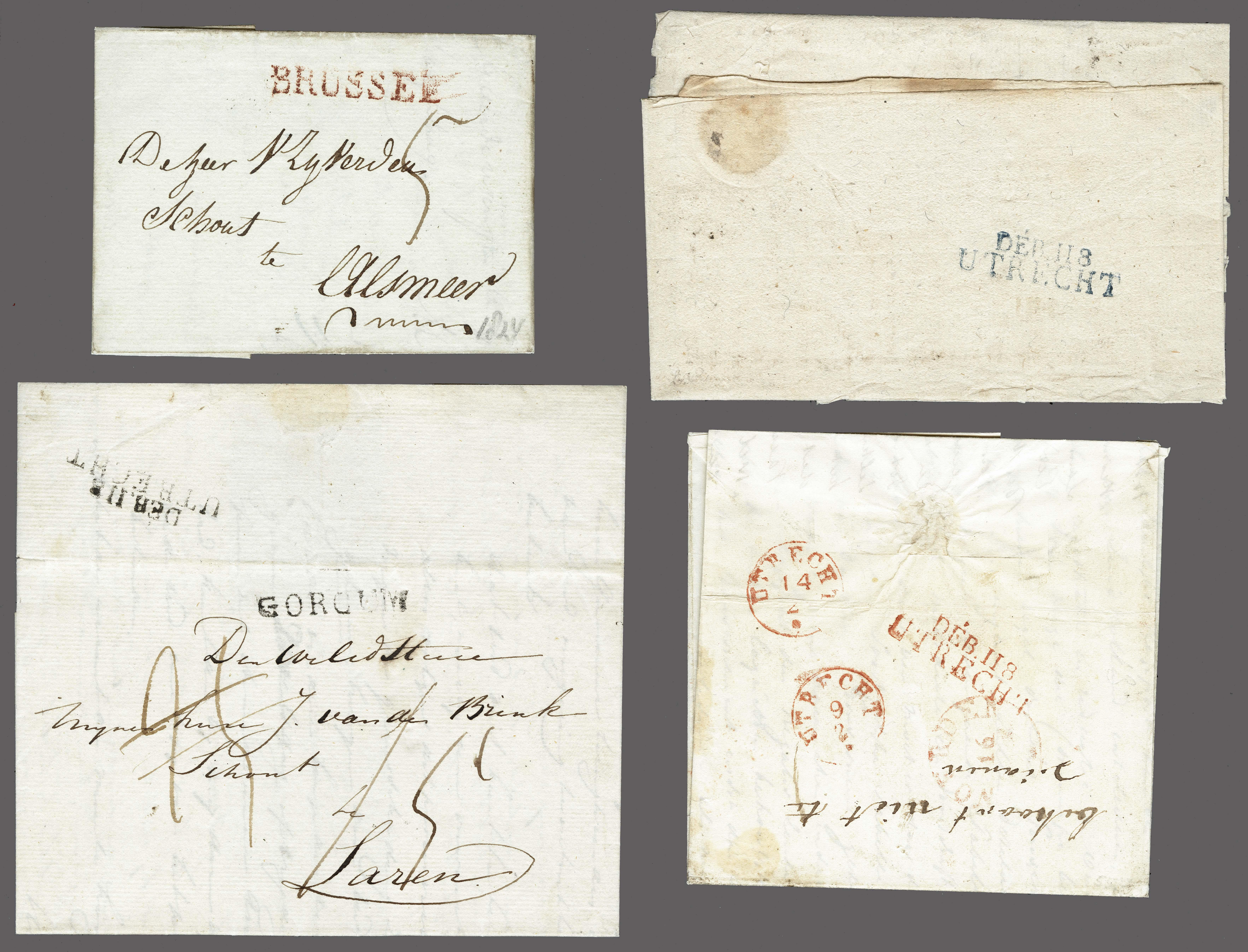 Lot 2421 - Netherlands and former colonies Netherlands -  Corinphila Veilingen Auction 250-253 - Day 3 - Netherlands and former colonies - Single lots & Picture postcards