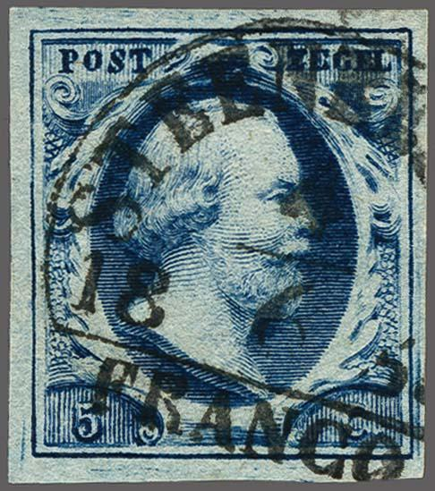 Lot 2523 - Netherlands and former colonies NL Semi-circular Cancellation -  Corinphila Veilingen Auction 250-253 - Day 3 - Netherlands and former colonies - Single lots & Picture postcards