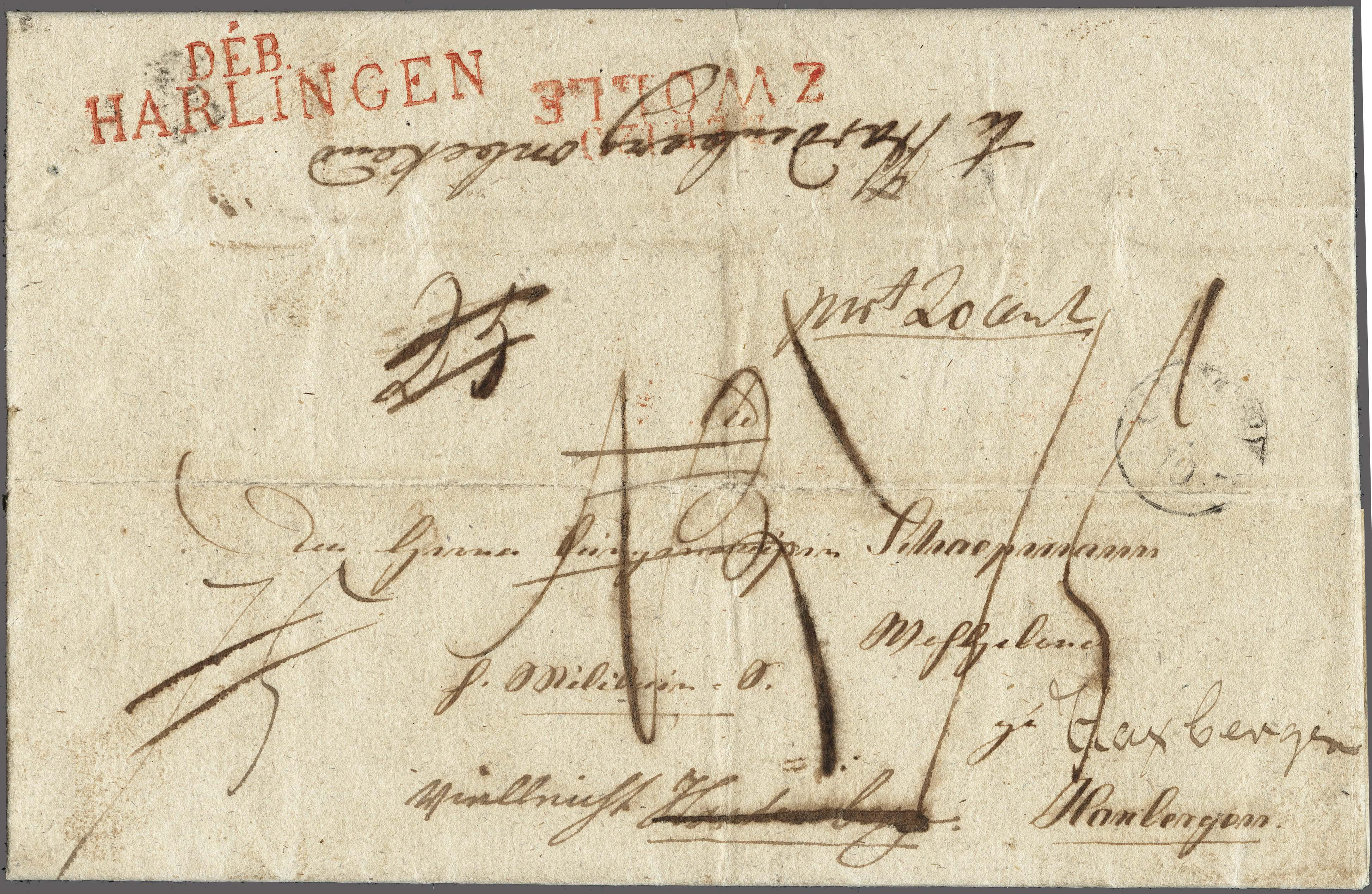 Lot 2419 - Netherlands and former colonies Netherlands -  Corinphila Veilingen Auction 250-253 - Day 3 - Netherlands and former colonies - Single lots & Picture postcards