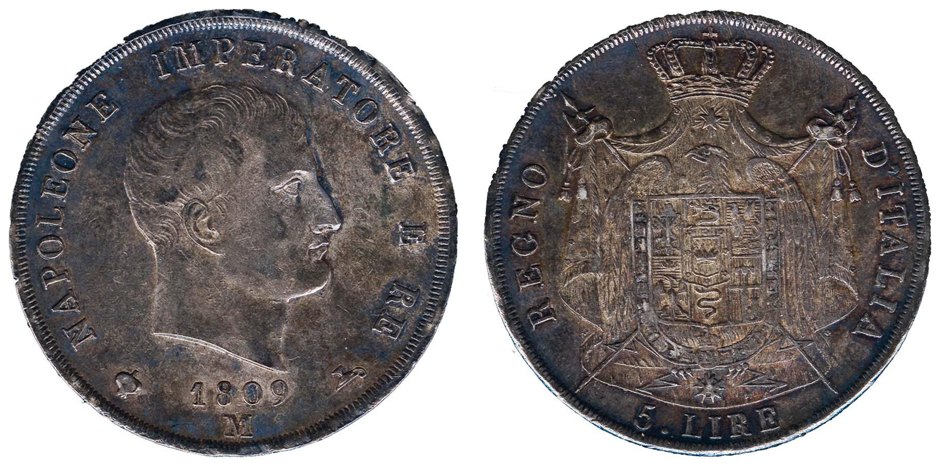 Lot 1416 - Italy and former colonies Italy -  Corinphila Veilingen Auction 250-253 - Day 2 - Coins, medals, Netherlands and former colonies
