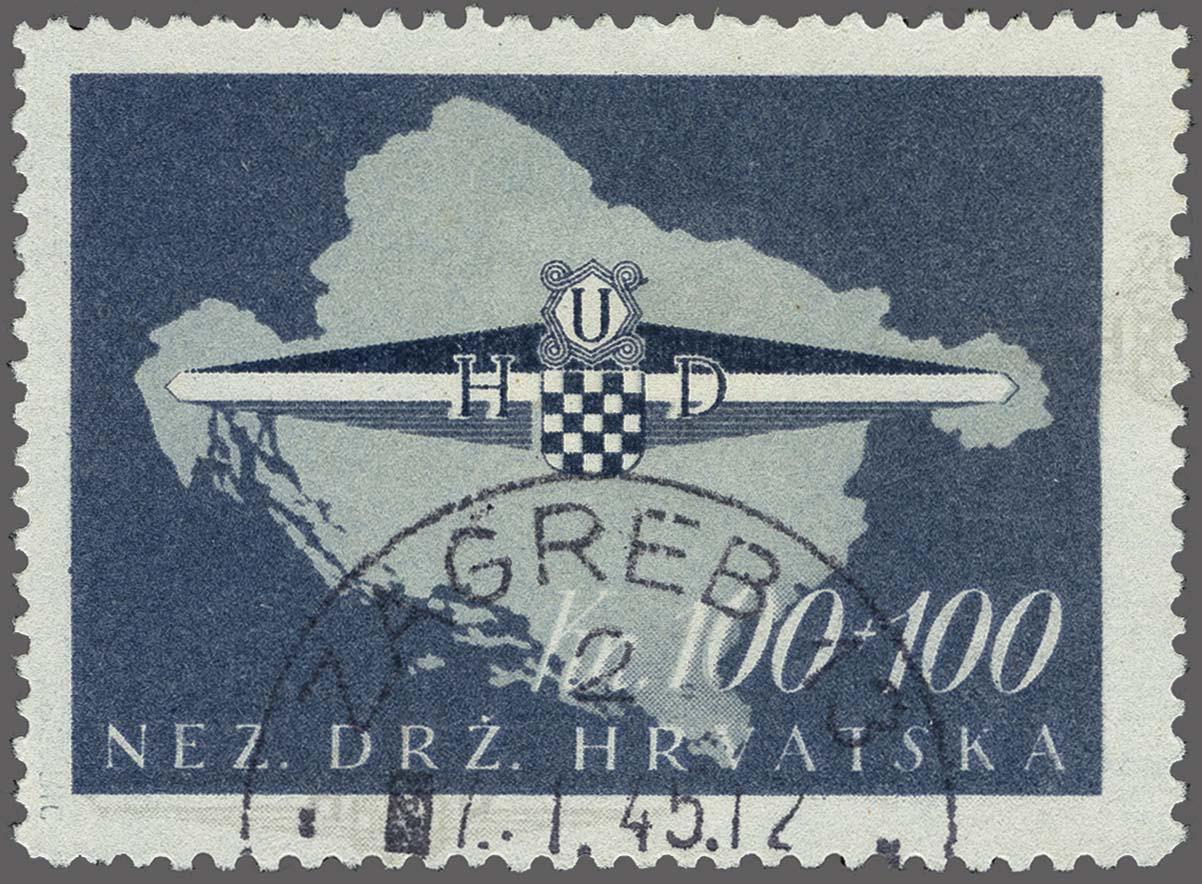 Lot 85 - European Countries Croatia -  Corinphila Veilingen Auction 250-253 - Day 1 - Foreign countries