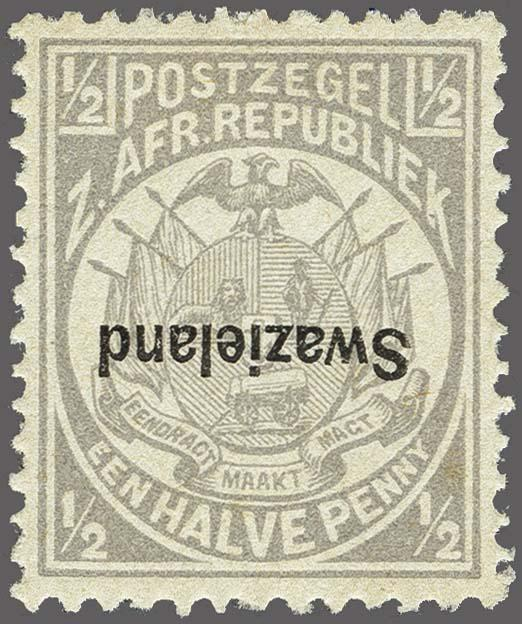 Lot 154 - Great Britain and former colonies swaziland -  Corinphila Veilingen Auction 250-253 - Day 1 - Foreign countries