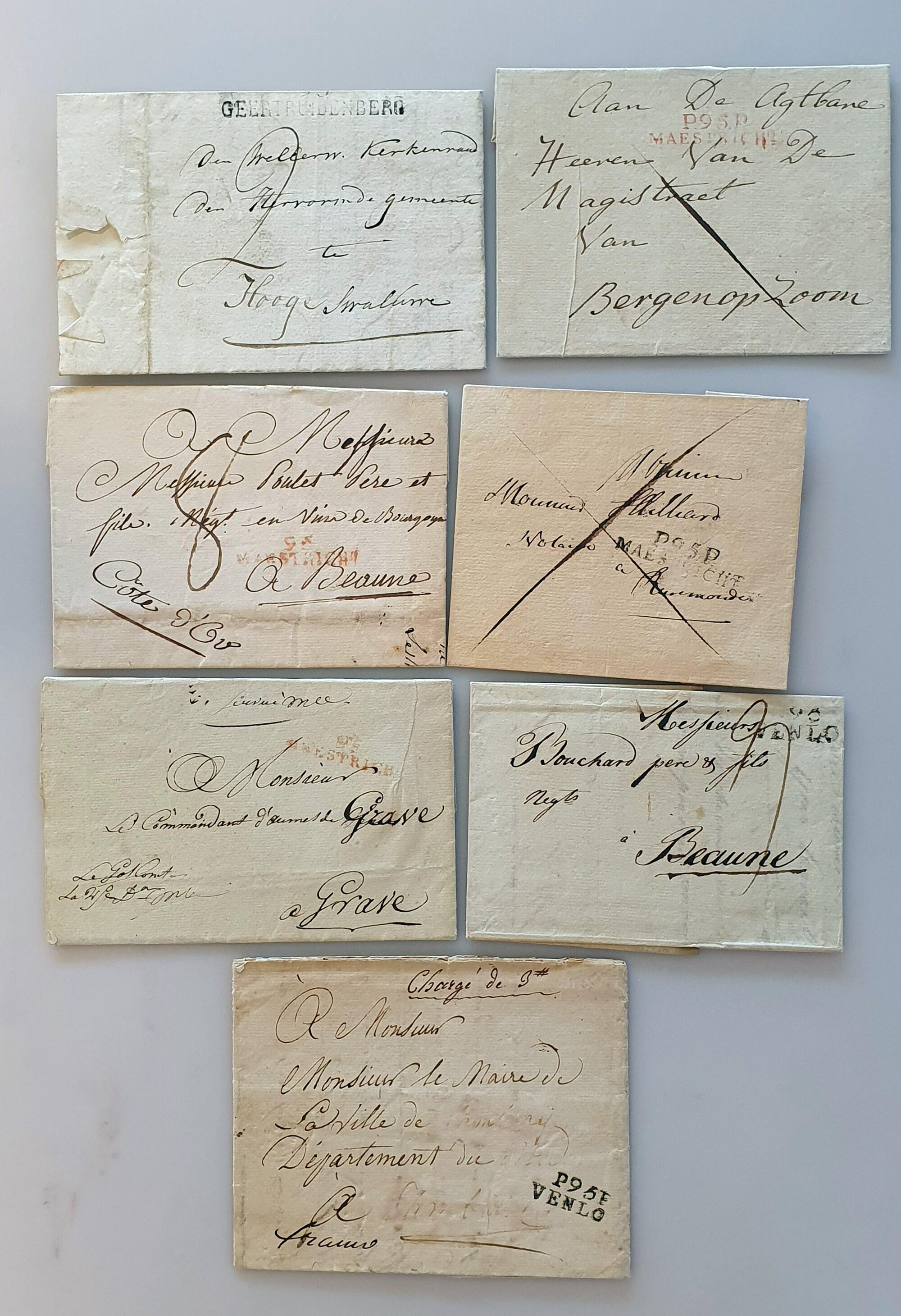 Lot 2332 - Netherlands and former colonies Netherlands -  Corinphila Veilingen Auction 250-253 - Day 3 - Netherlands and former colonies - Single lots & Picture postcards