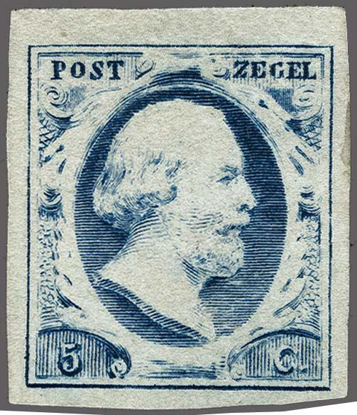 Lot 2470 - Netherlands and former colonies NL 1852 King William III -  Corinphila Veilingen Auction 250-253 - Day 3 - Netherlands and former colonies - Single lots & Picture postcards
