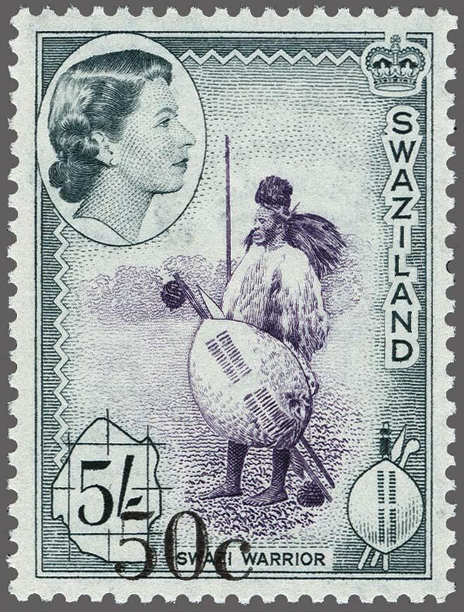 Lot 183 - Great Britain and former colonies swaziland -  Corinphila Veilingen Auction 250-253 - Day 1 - Foreign countries