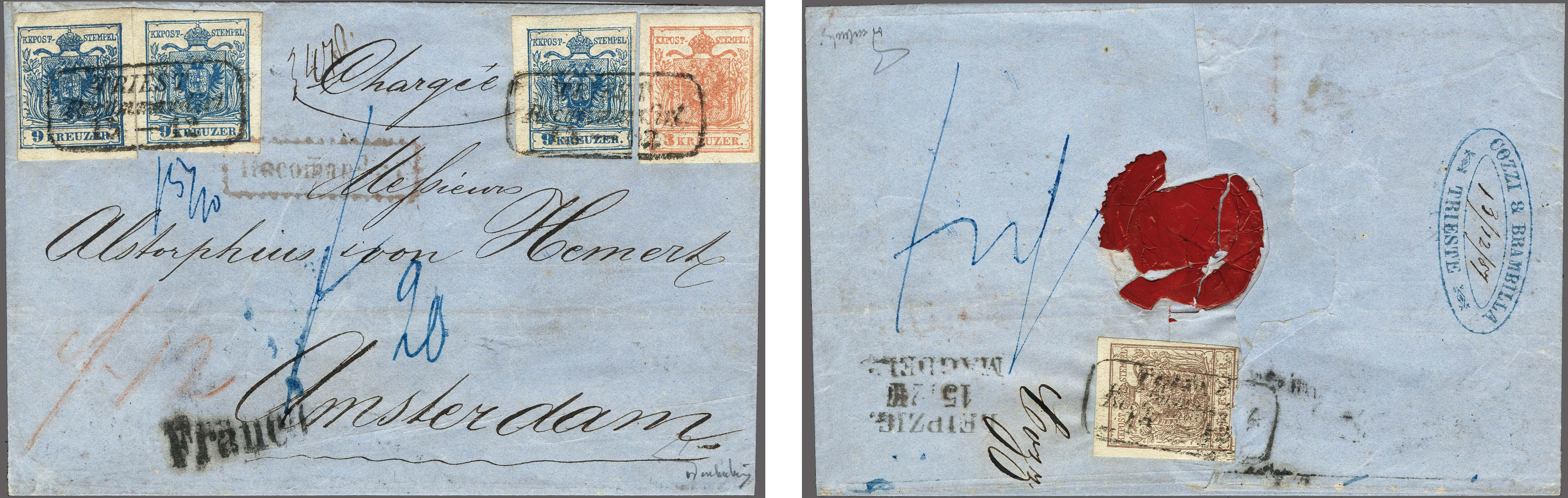 Lot 4 - Austria and former territories Austria -  Corinphila Veilingen Auction 250-253 - Day 1 - Foreign countries