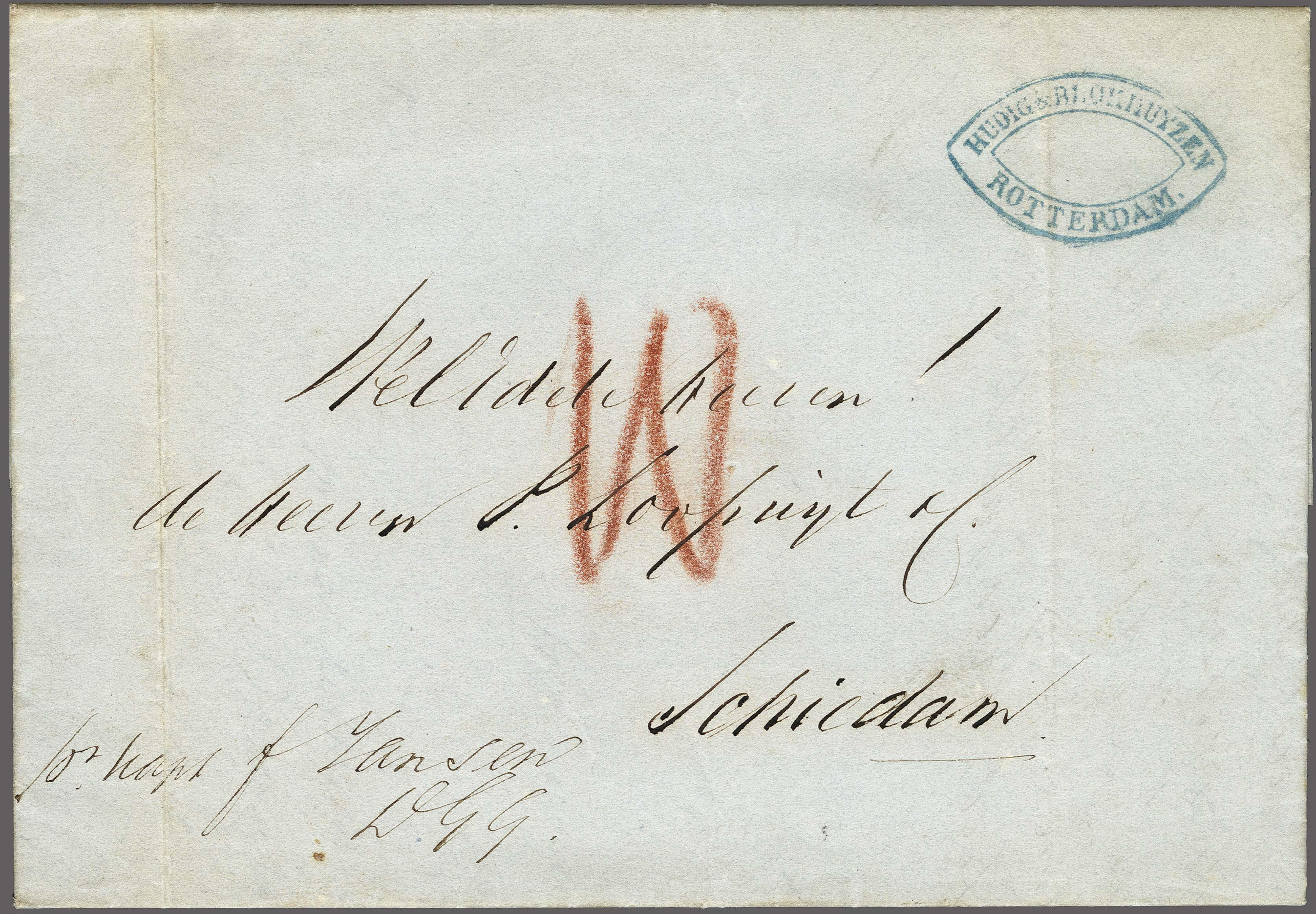Lot 2447 - Netherlands and former colonies Netherlands -  Corinphila Veilingen Auction 250-253 - Day 3 - Netherlands and former colonies - Single lots & Picture postcards
