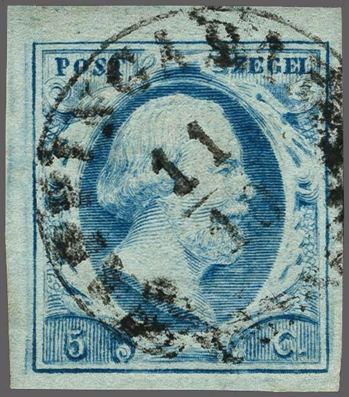 Lot 2484 - Netherlands and former colonies NL Semi-circular Cancellation -  Corinphila Veilingen Auction 250-253 - Day 3 - Netherlands and former colonies - Single lots & Picture postcards