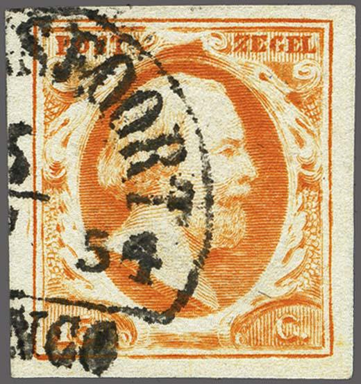 Lot 2482 - Netherlands and former colonies NL Semi-circular Cancellation -  Corinphila Veilingen Auction 250-253 - Day 3 - Netherlands and former colonies - Single lots & Picture postcards