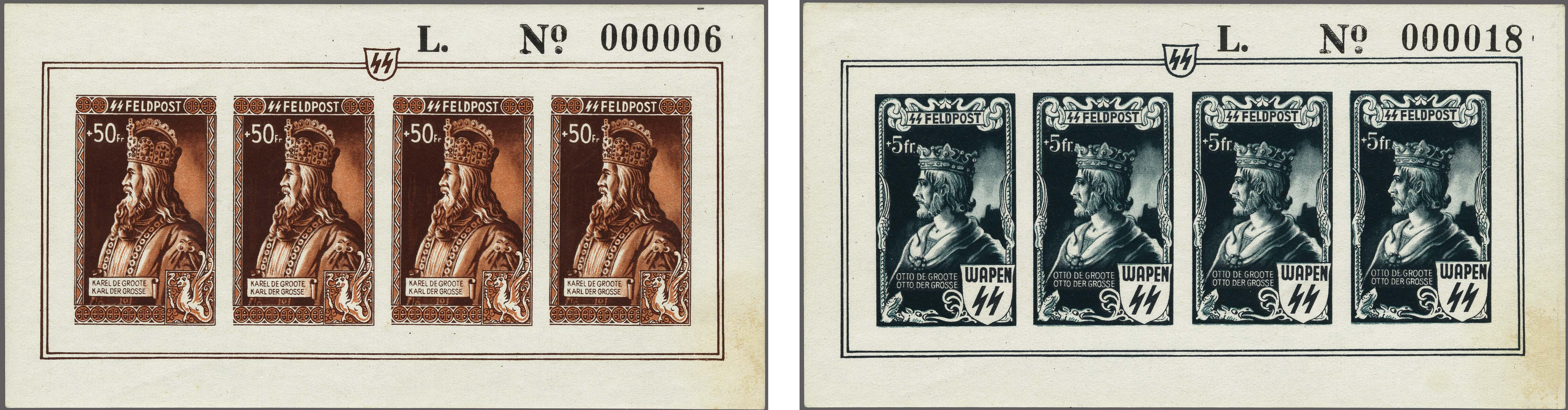 Lot 21 - Belgium and former colonies Belgium -  Corinphila Veilingen Auction 250-253 - Day 1 - Foreign countries