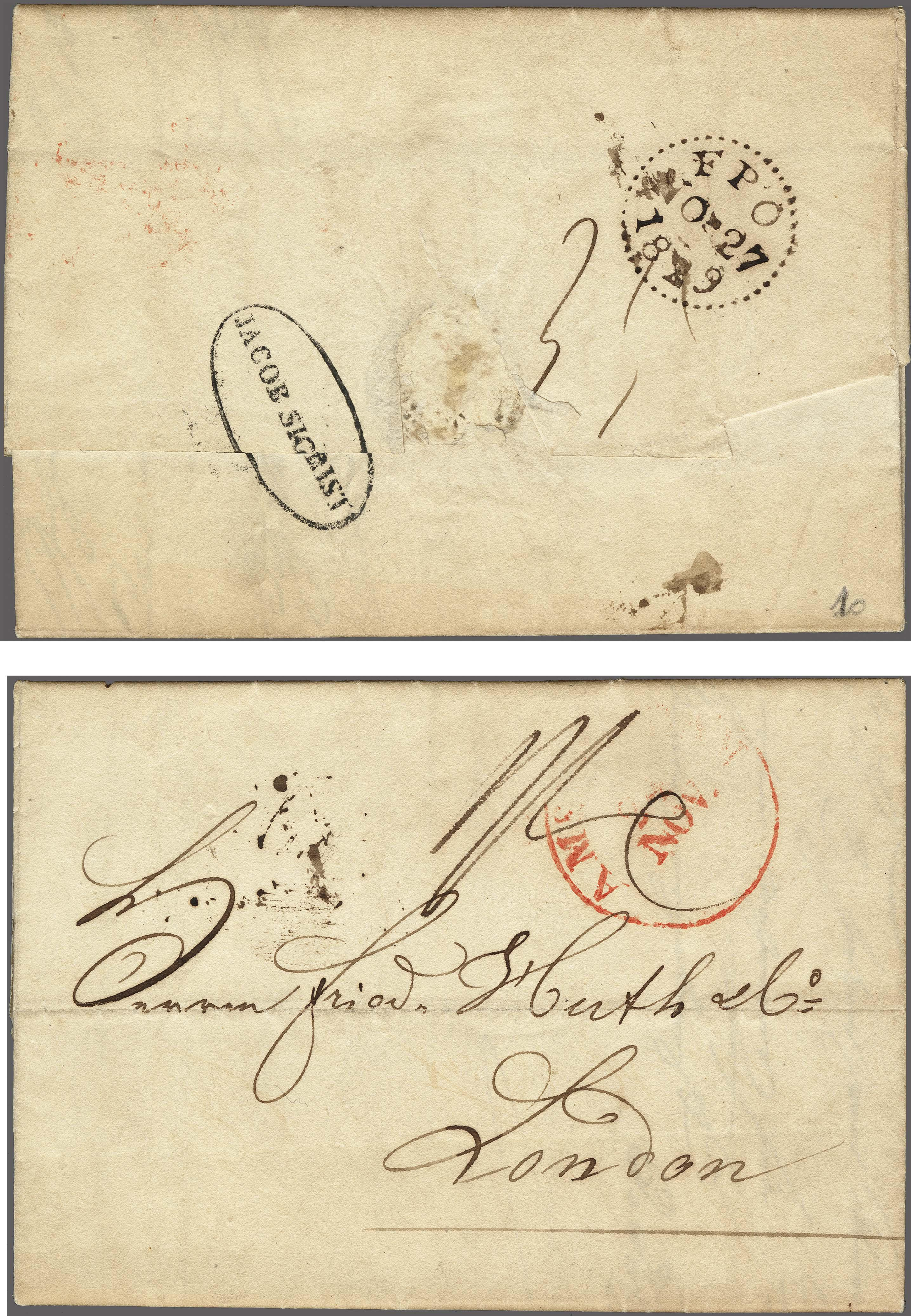 Lot 2422 - Netherlands and former colonies Netherlands -  Corinphila Veilingen Auction 250-253 - Day 3 - Netherlands and former colonies - Single lots & Picture postcards